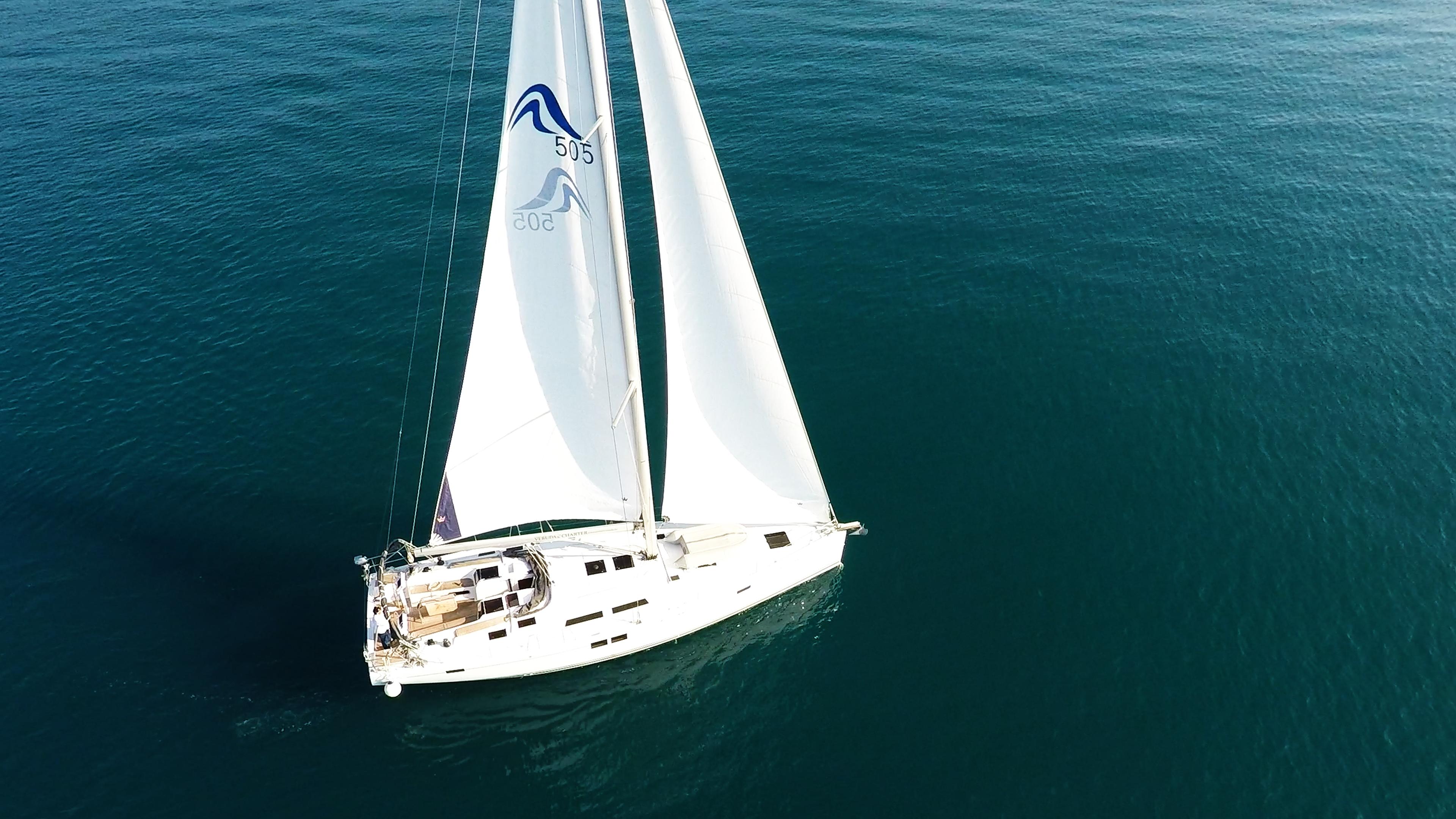 barcha a vela Hanse 505 yacht a vela 1
