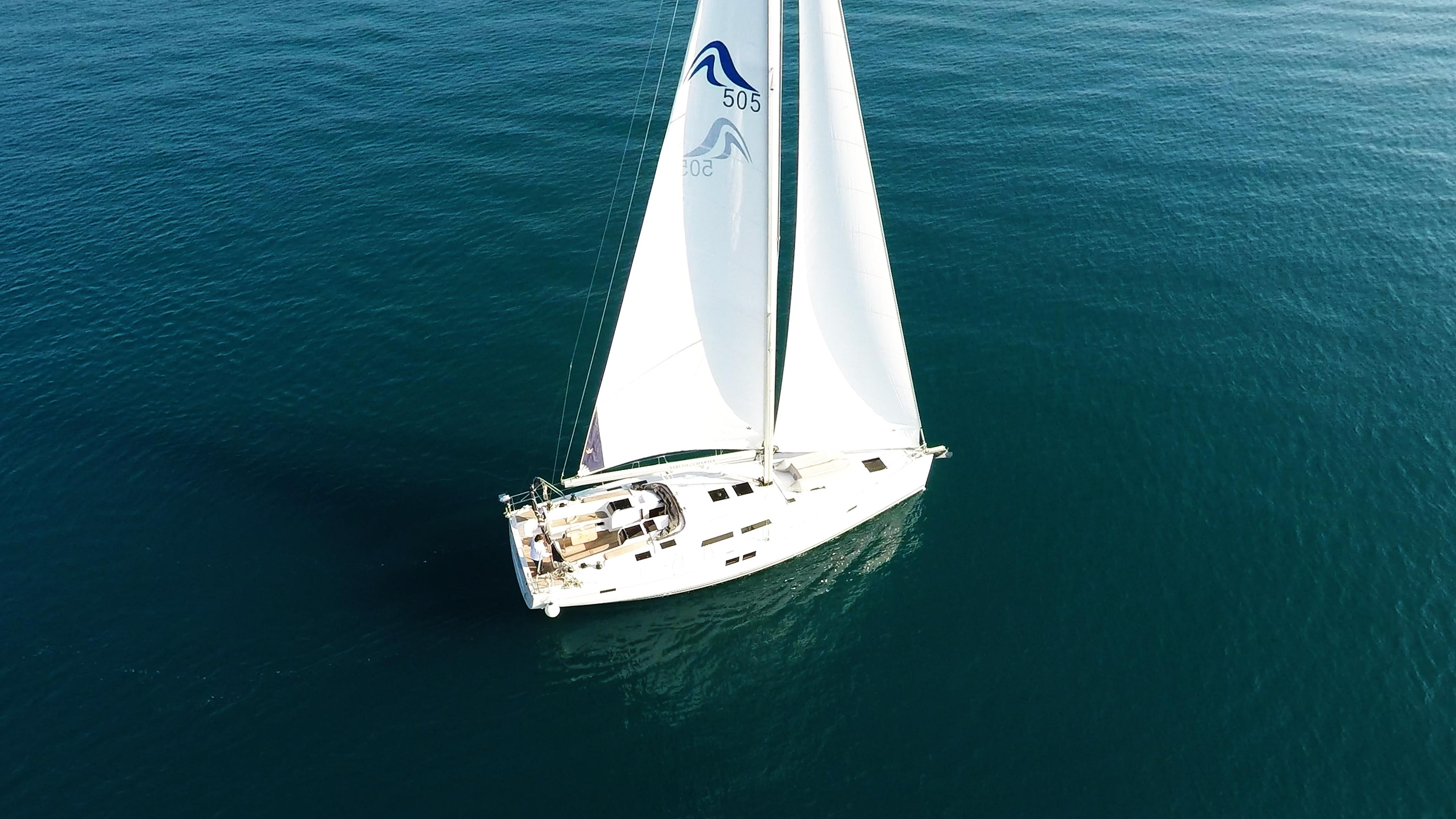 barcha a vela Hanse 505 yacht a vela 2