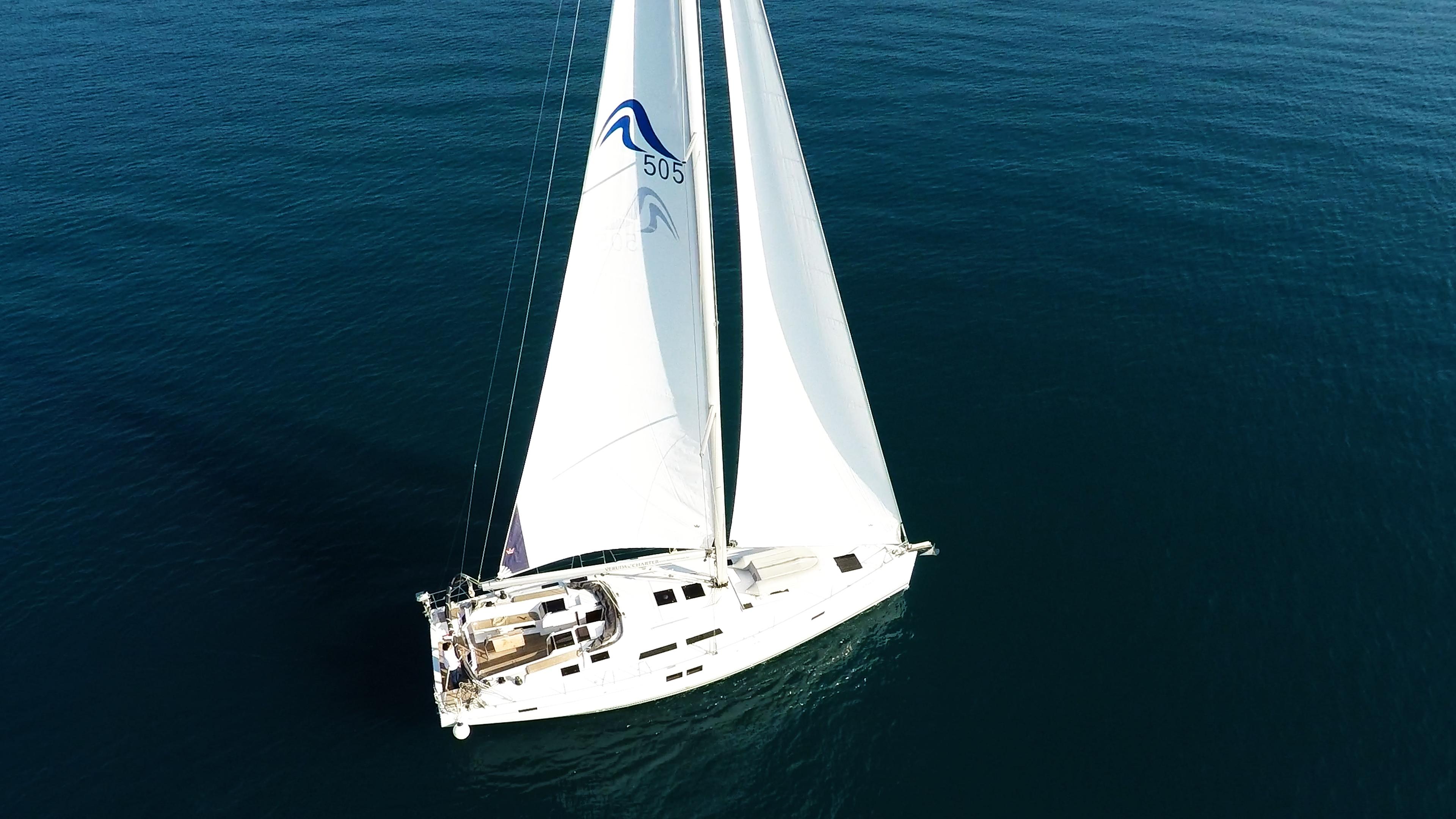 barcha a vela Hanse 505 yacht a vela 6