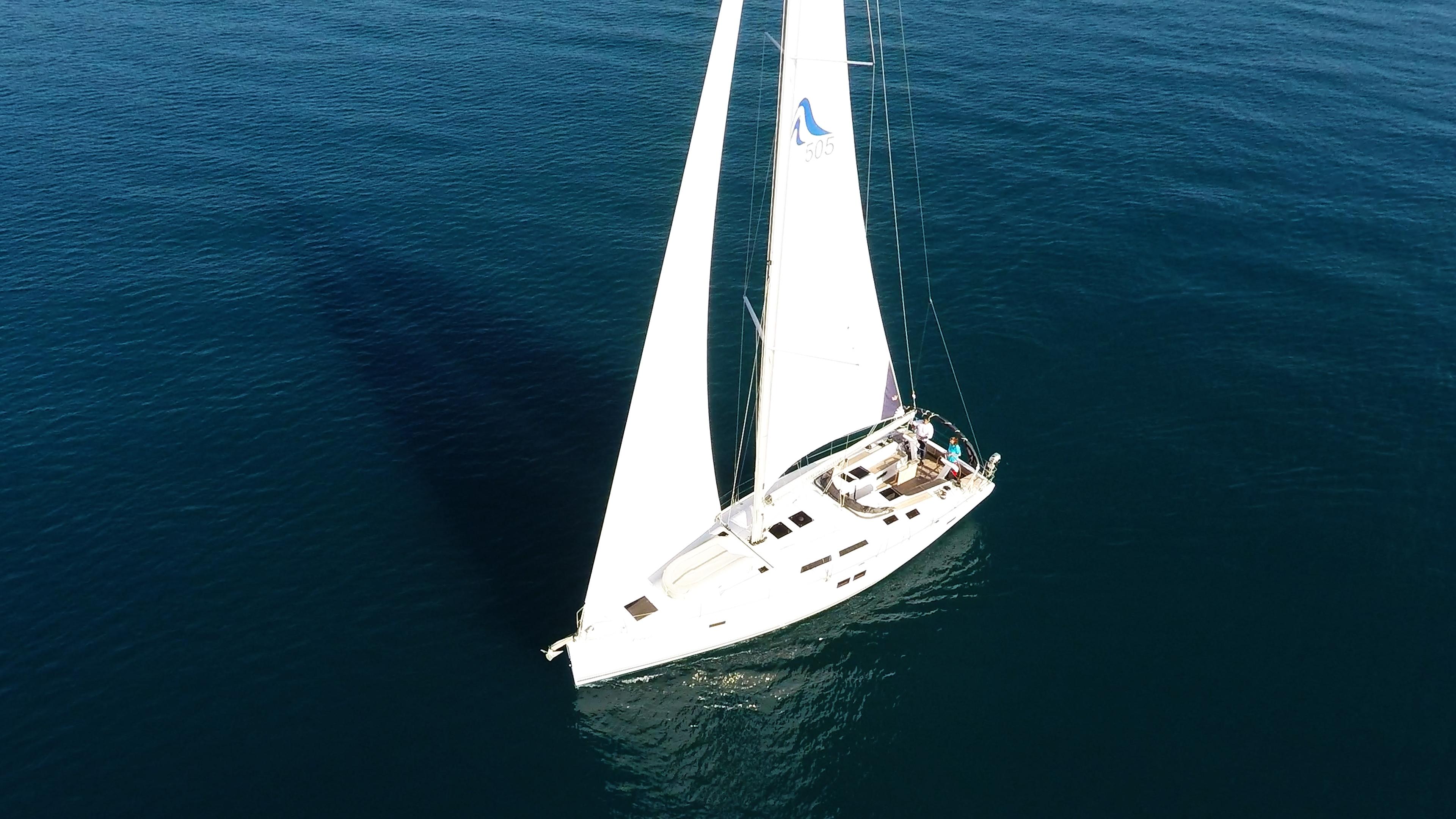 barcha a vela Hanse 505 yacht a vela da sopra 2