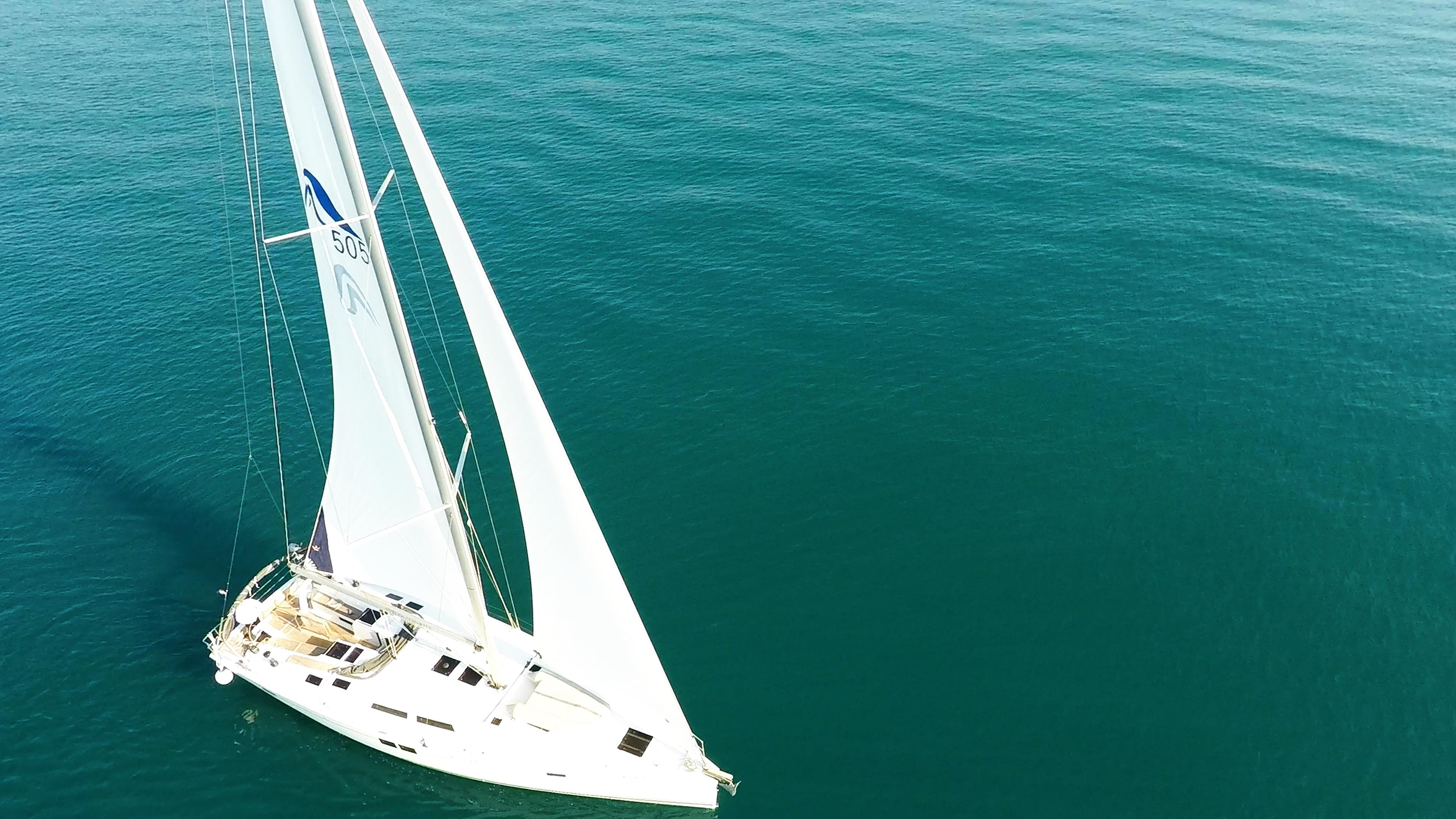barcha a vela Hanse 505 yacht a vela da sopra