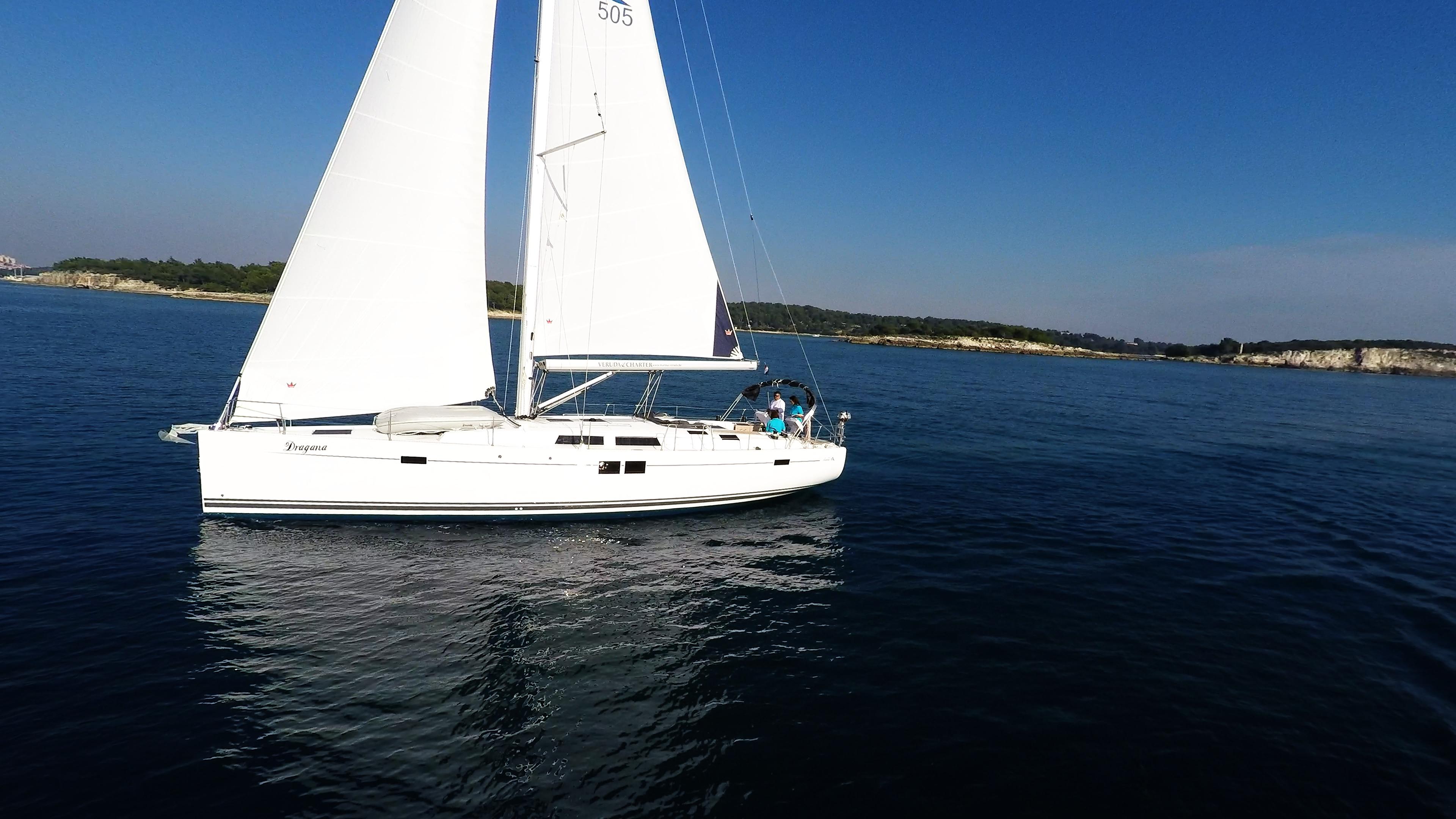 barcha a vela Hanse 505 yacht a vela monoscafo