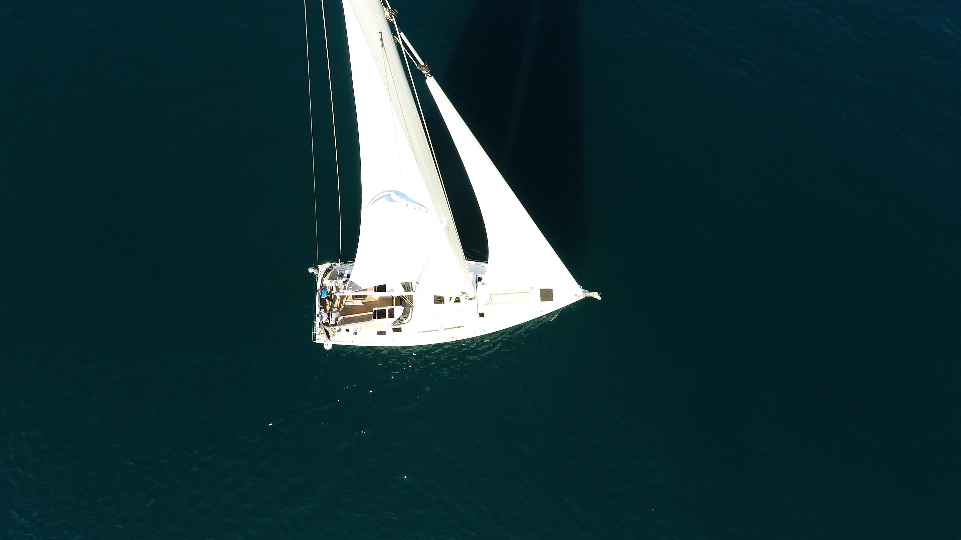 barcha a vela Hanse 505 yacht a vela mare