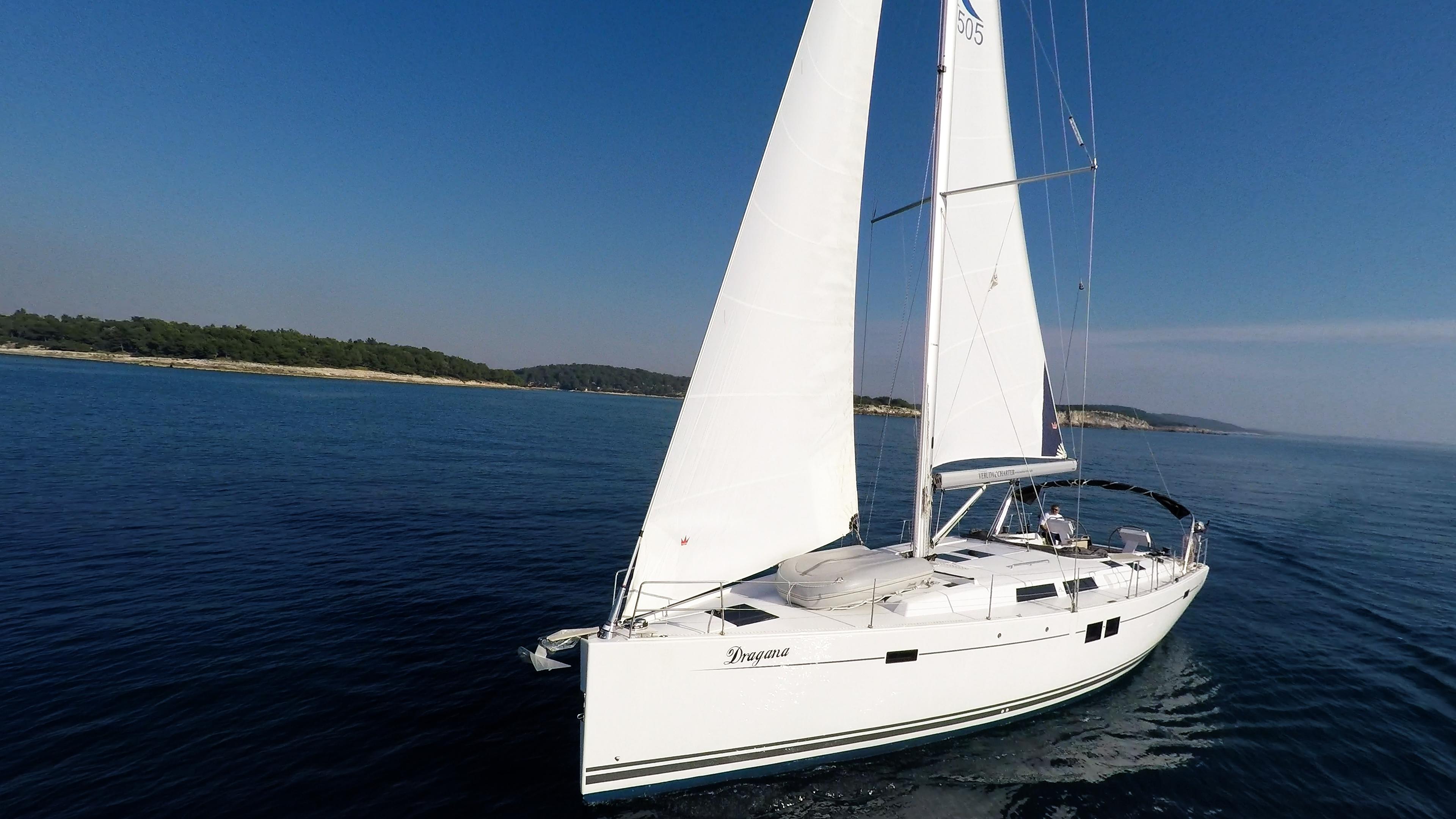 barcha a vela Hanse 505 vele yacht a vela mare blu