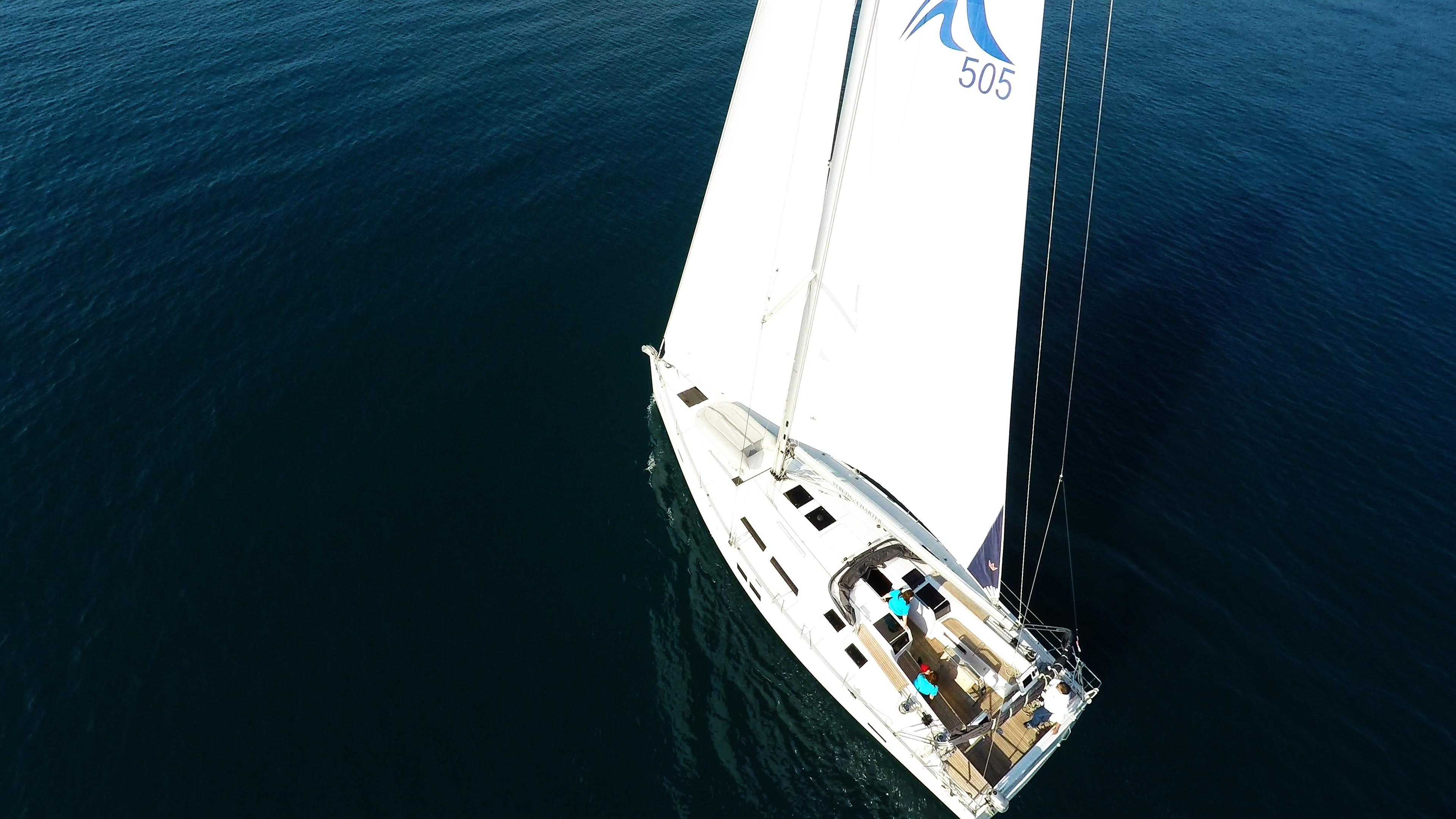 barcha a vela Hanse505 yacht a vela