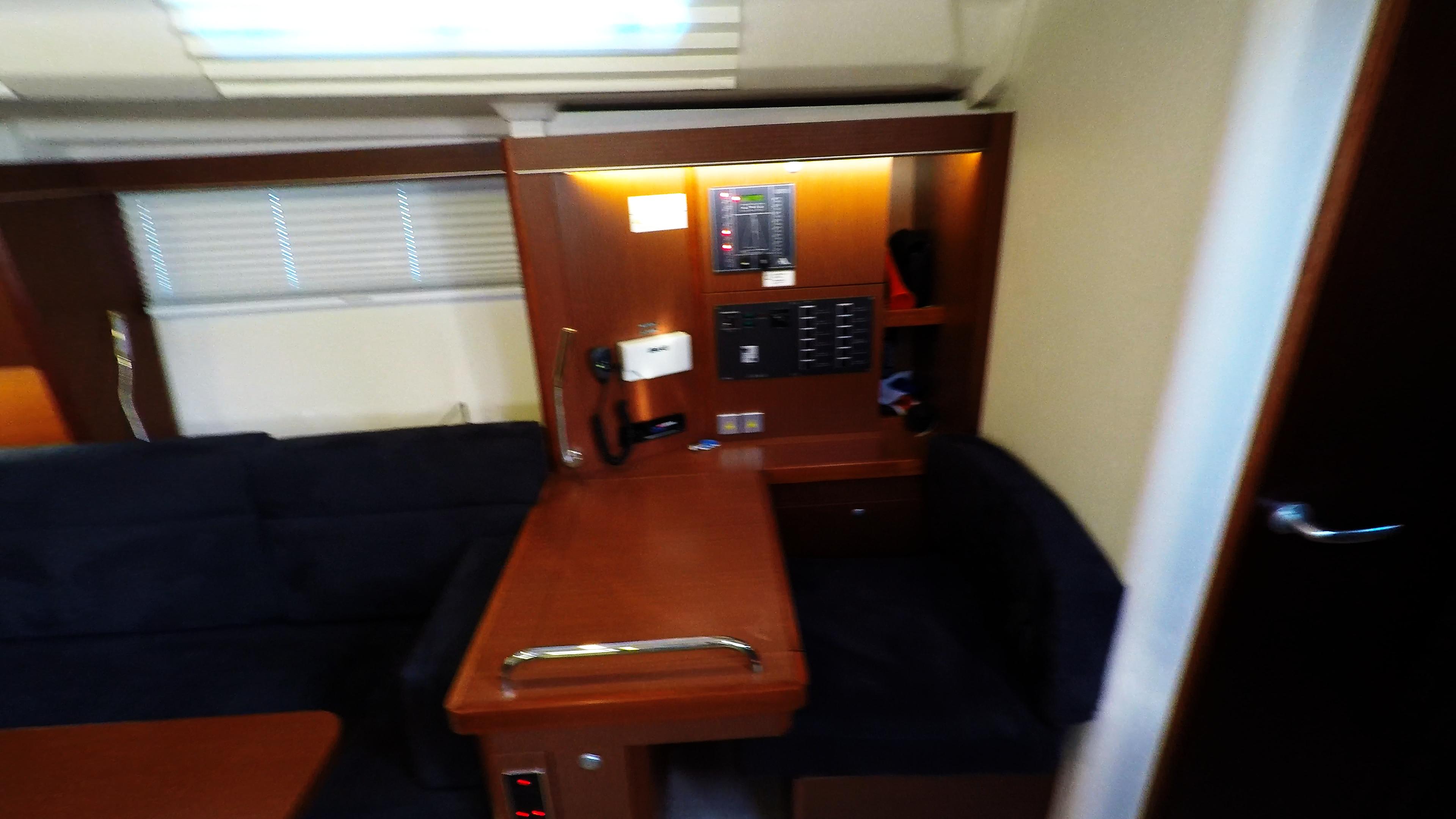 barcha a vela banco di navigazione salone yacht a vela nollegio Hanse 505