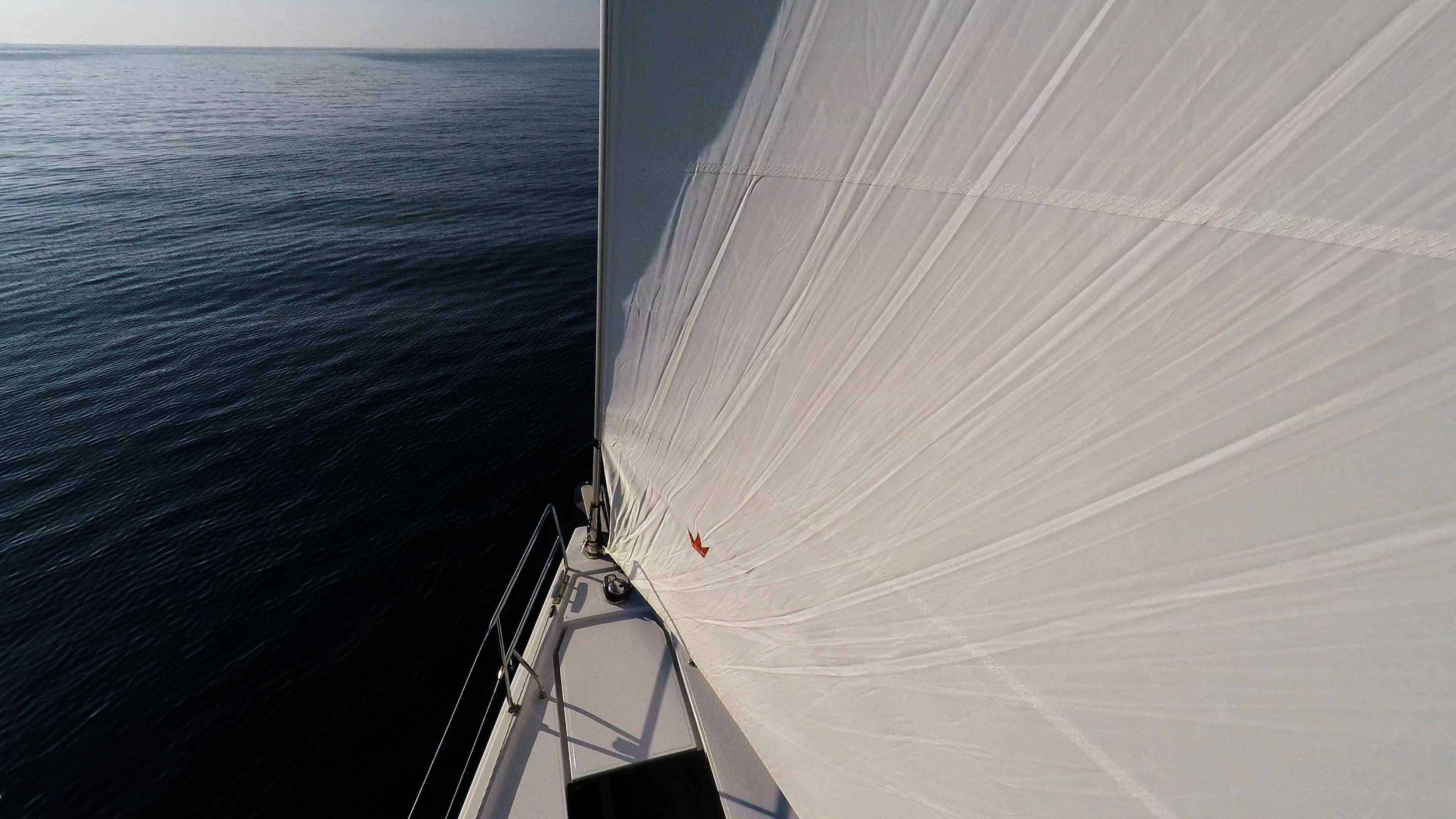 barcha a vela prua della barca a vela genova ancora ponte yacht a vela