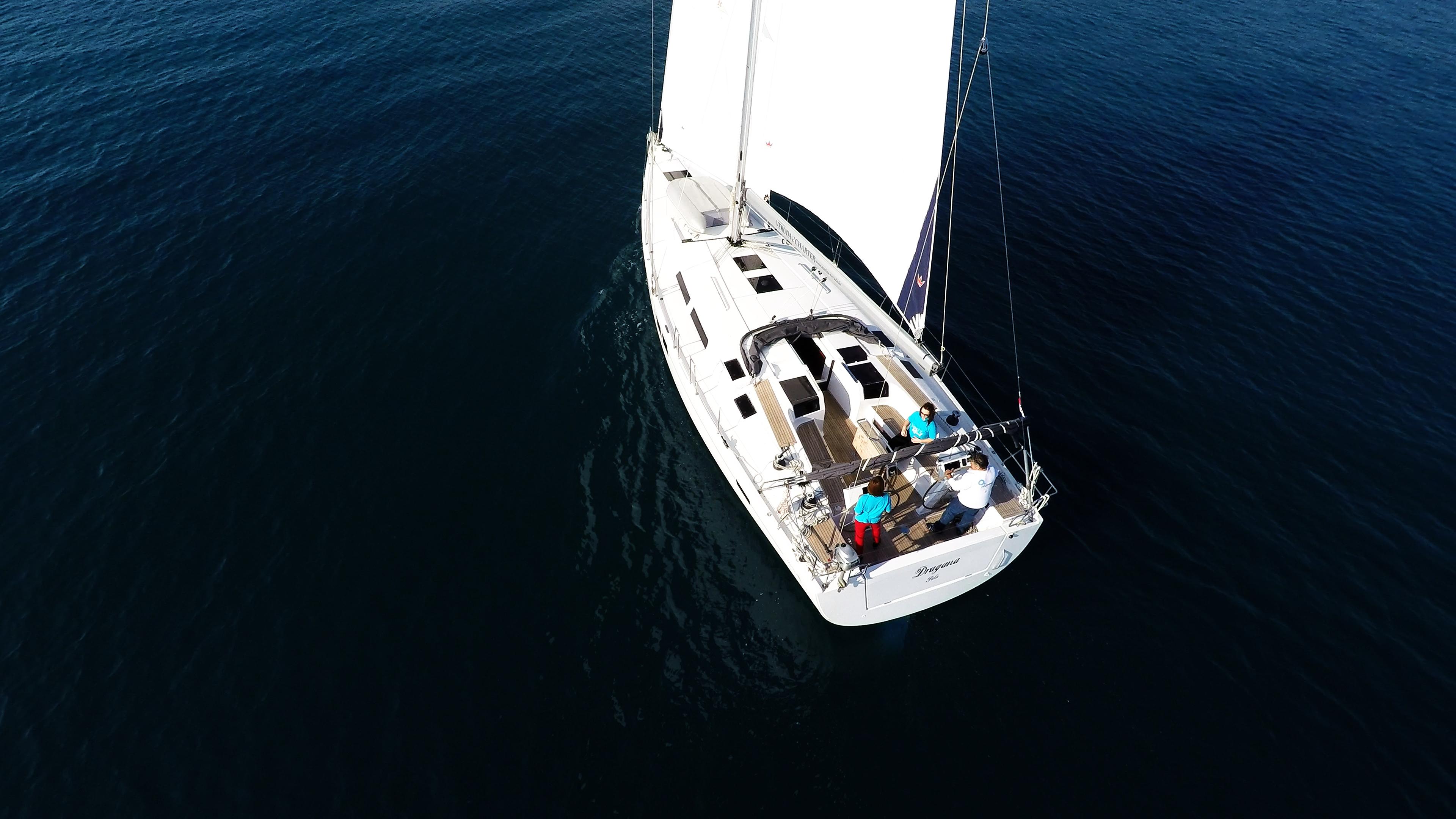 barcha a vela barca a vela dall'aria Hanse 505