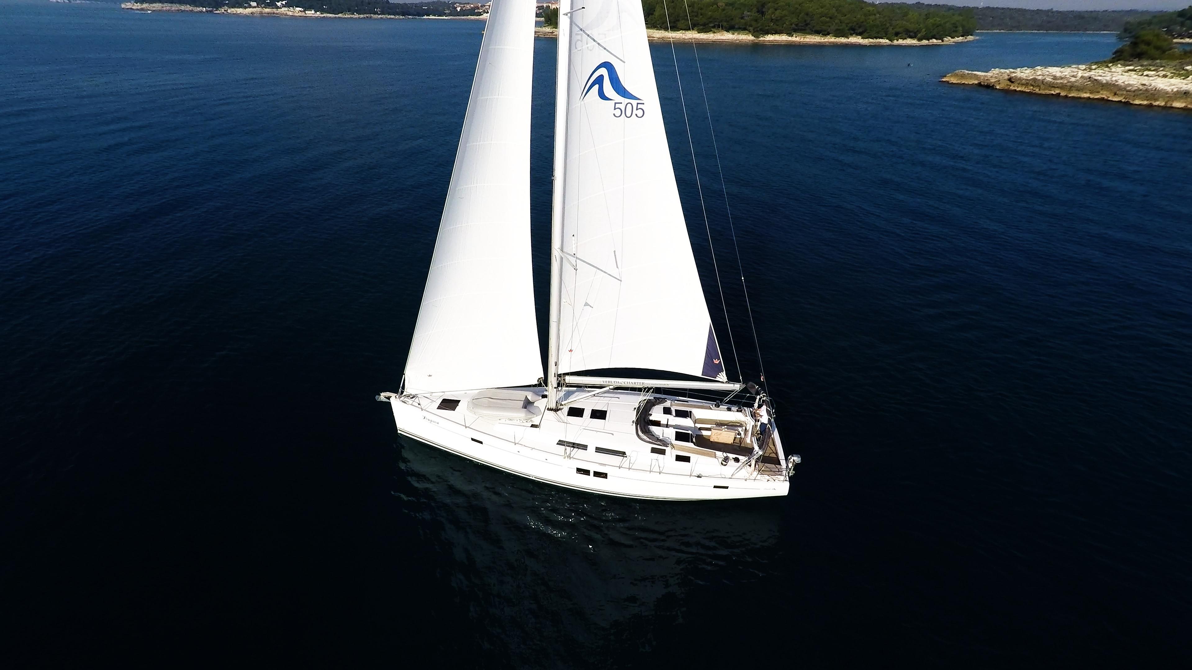 barcha a vela barca a vela Hanse 505 1