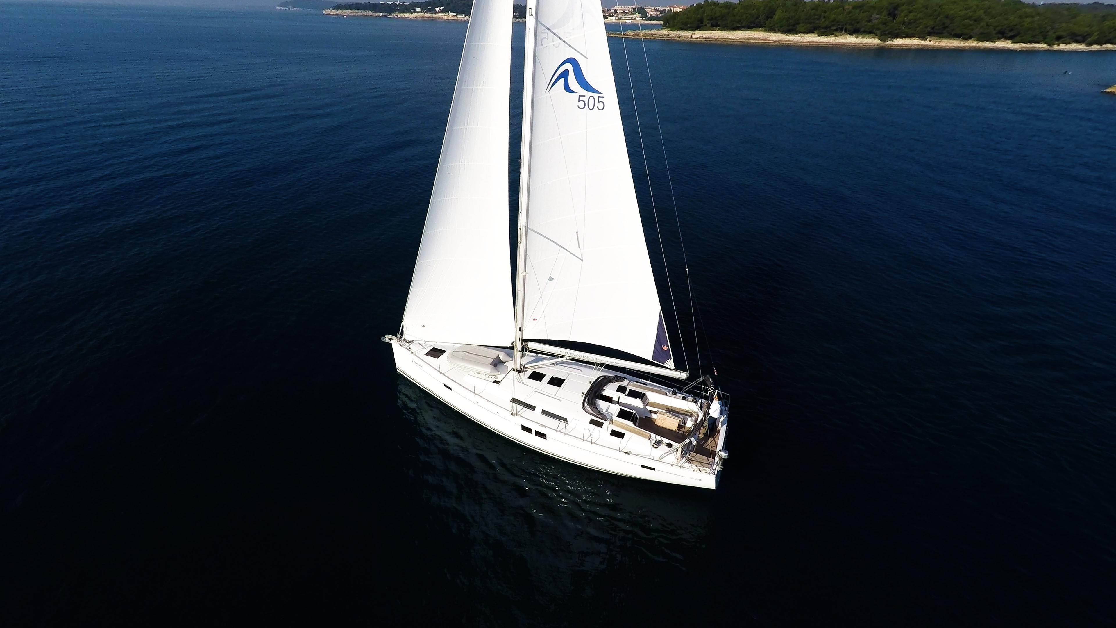 barcha a vela barca a vela Hanse 505 2