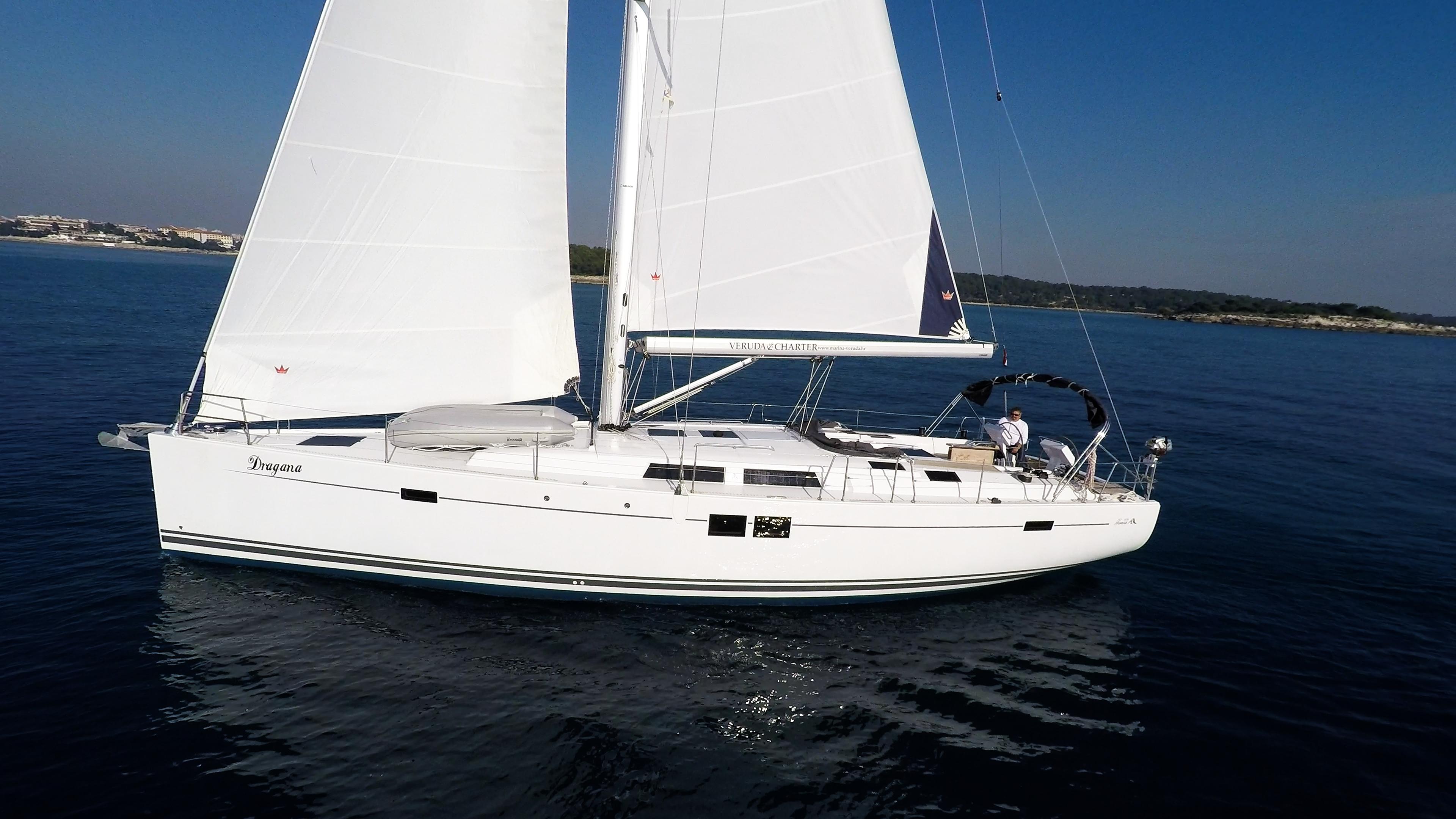 barcha a vela barca a vela Hanse 505 scafo vele veleggiare