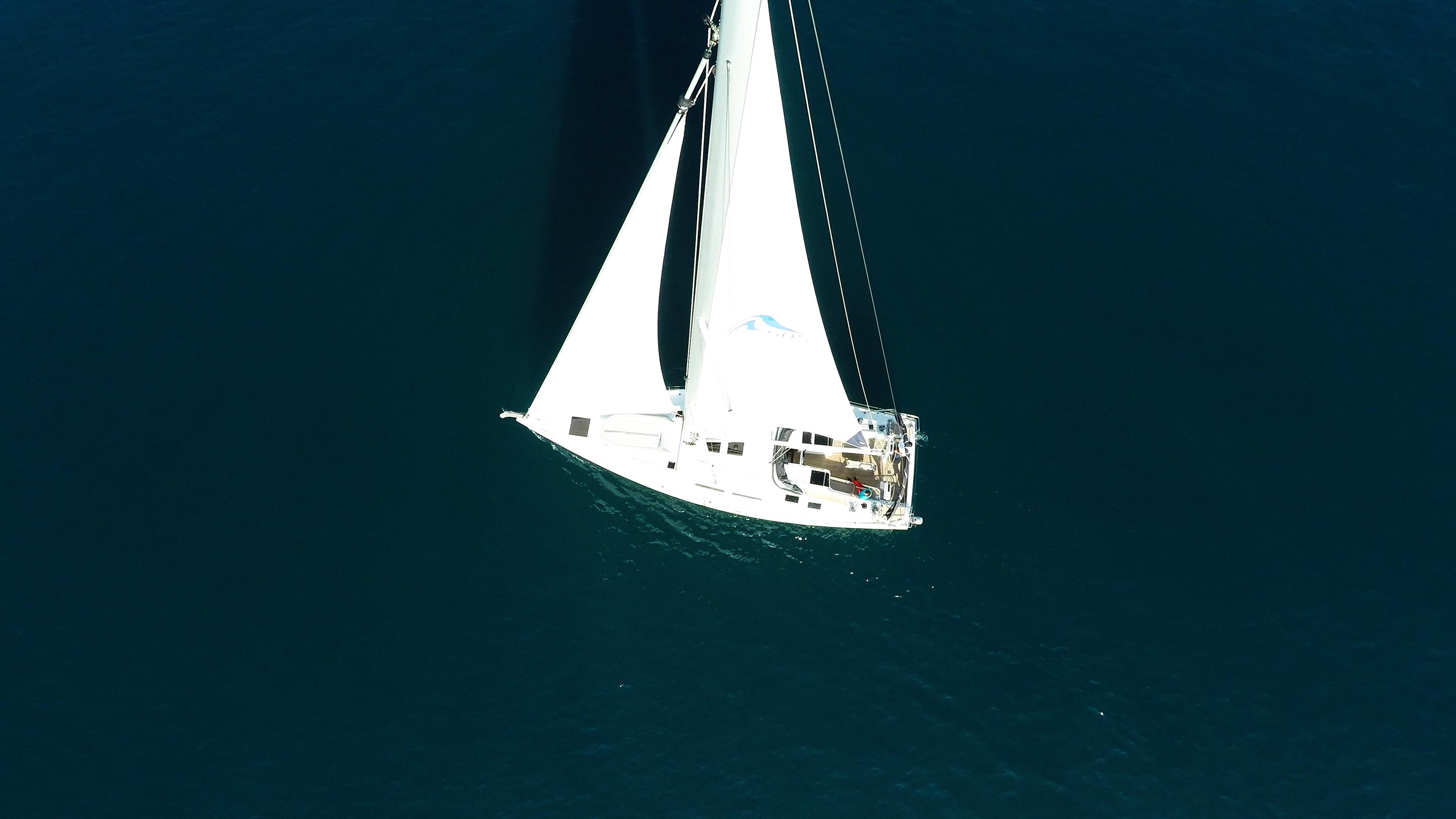 barcha a vela barca a vela Hanse 505 albero vele