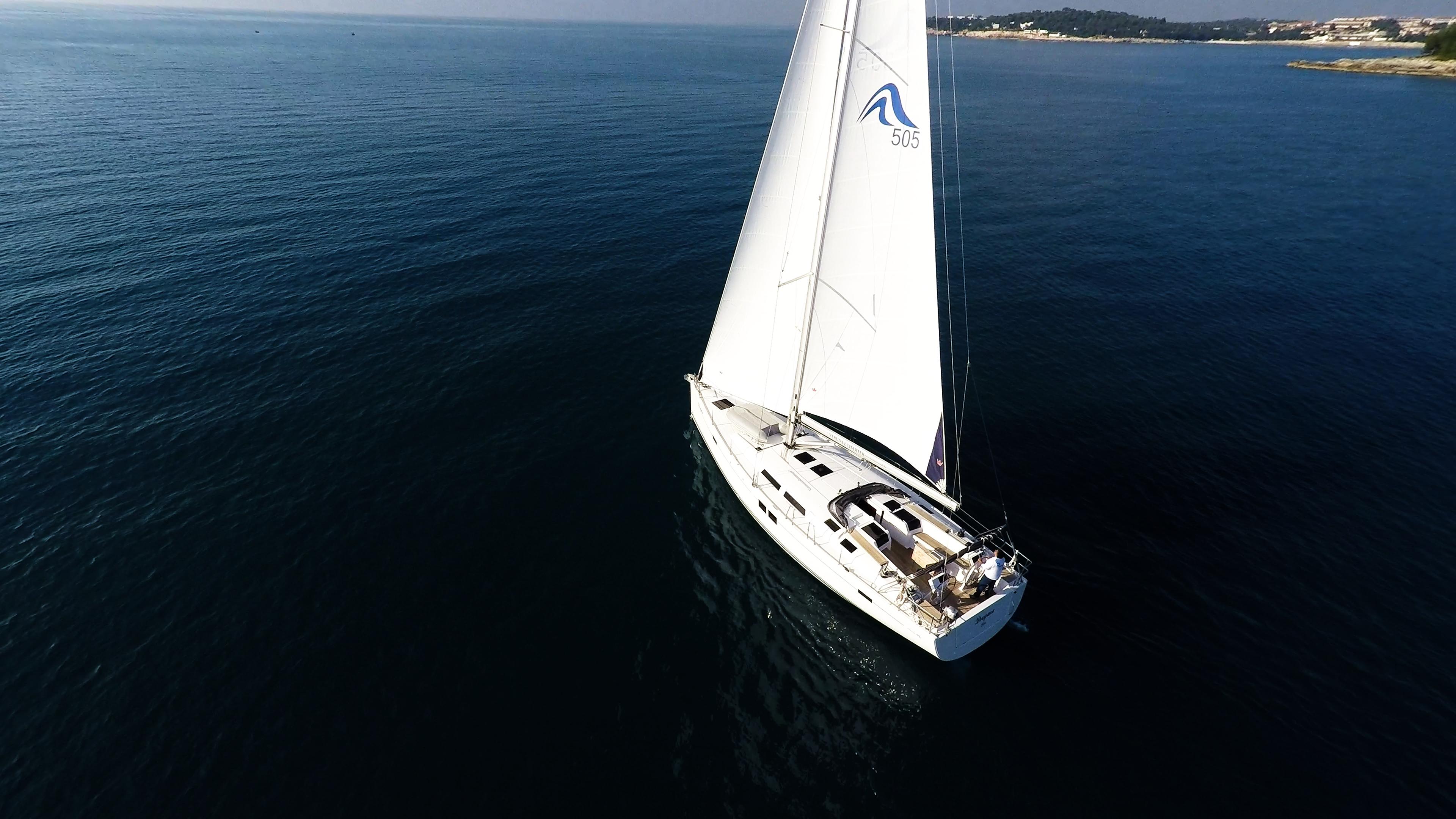 barcha a vela barca a vela Hanse 505 veleggiare mare