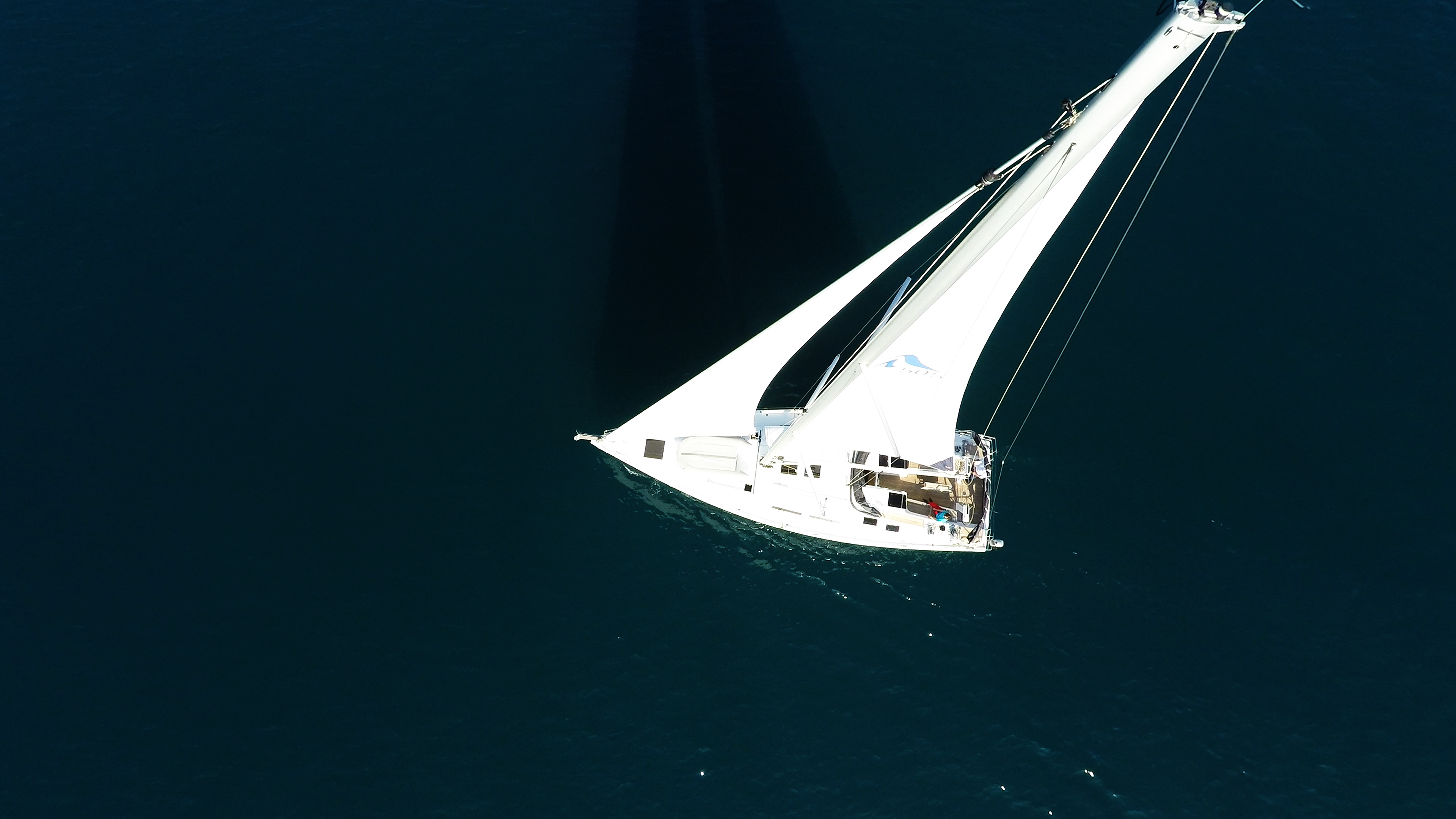 barcha a vela barca a vela Hanse 505 cima dell'albero veleggiare