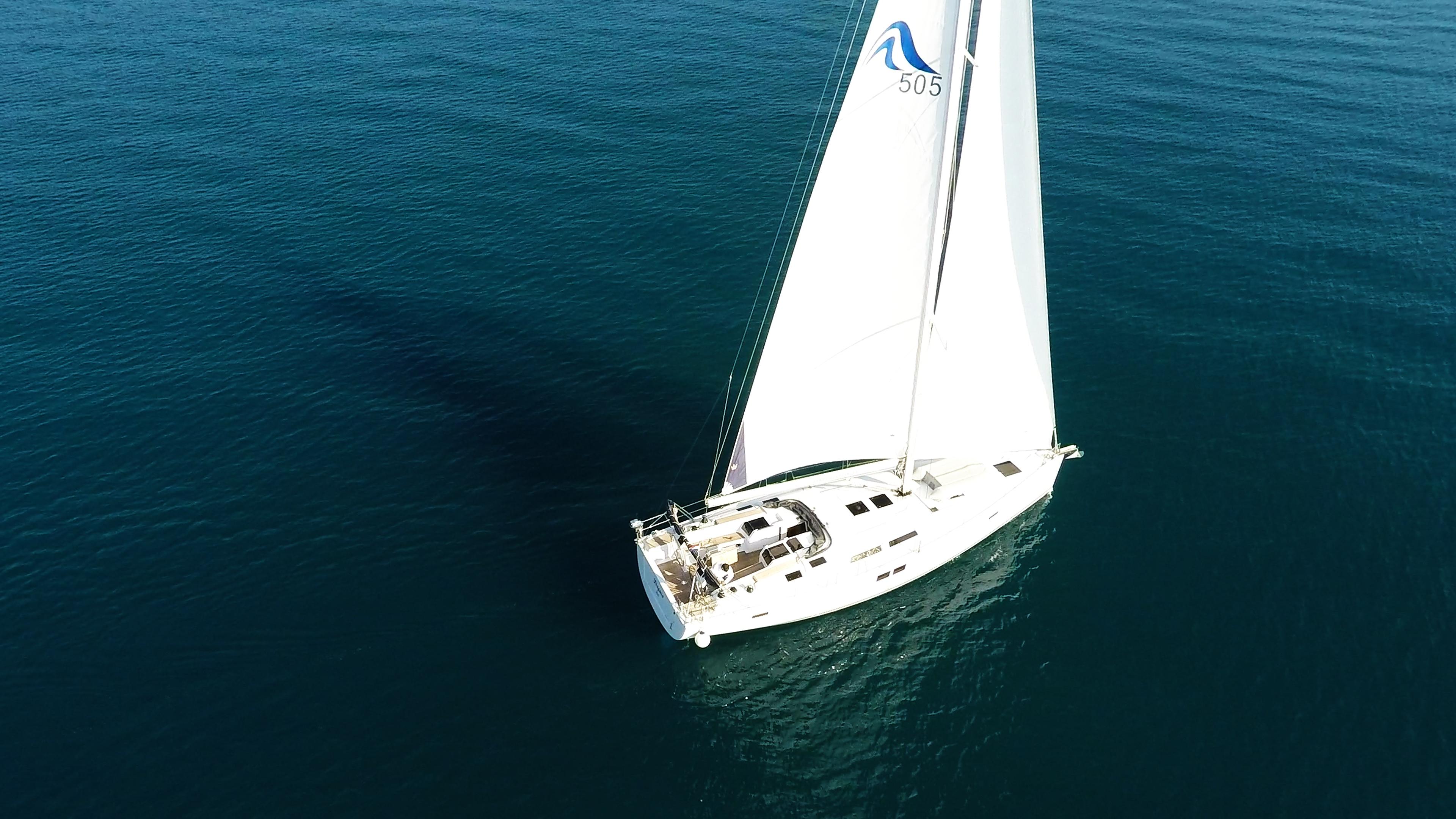 barcha a vela barca a vela randa genovaal mare blu
