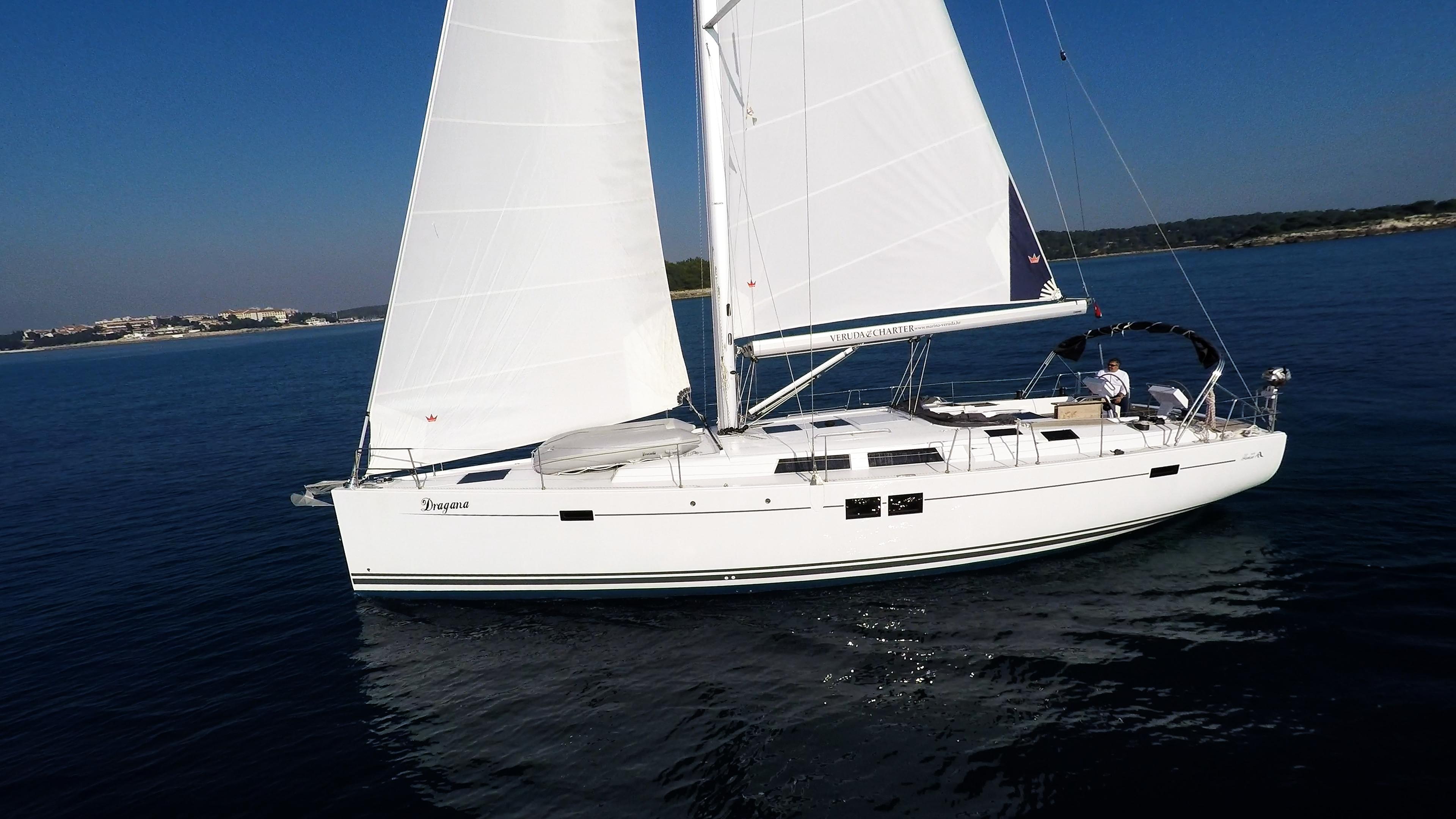 barcha a vela vele della barca a vela scafo Hanse 505