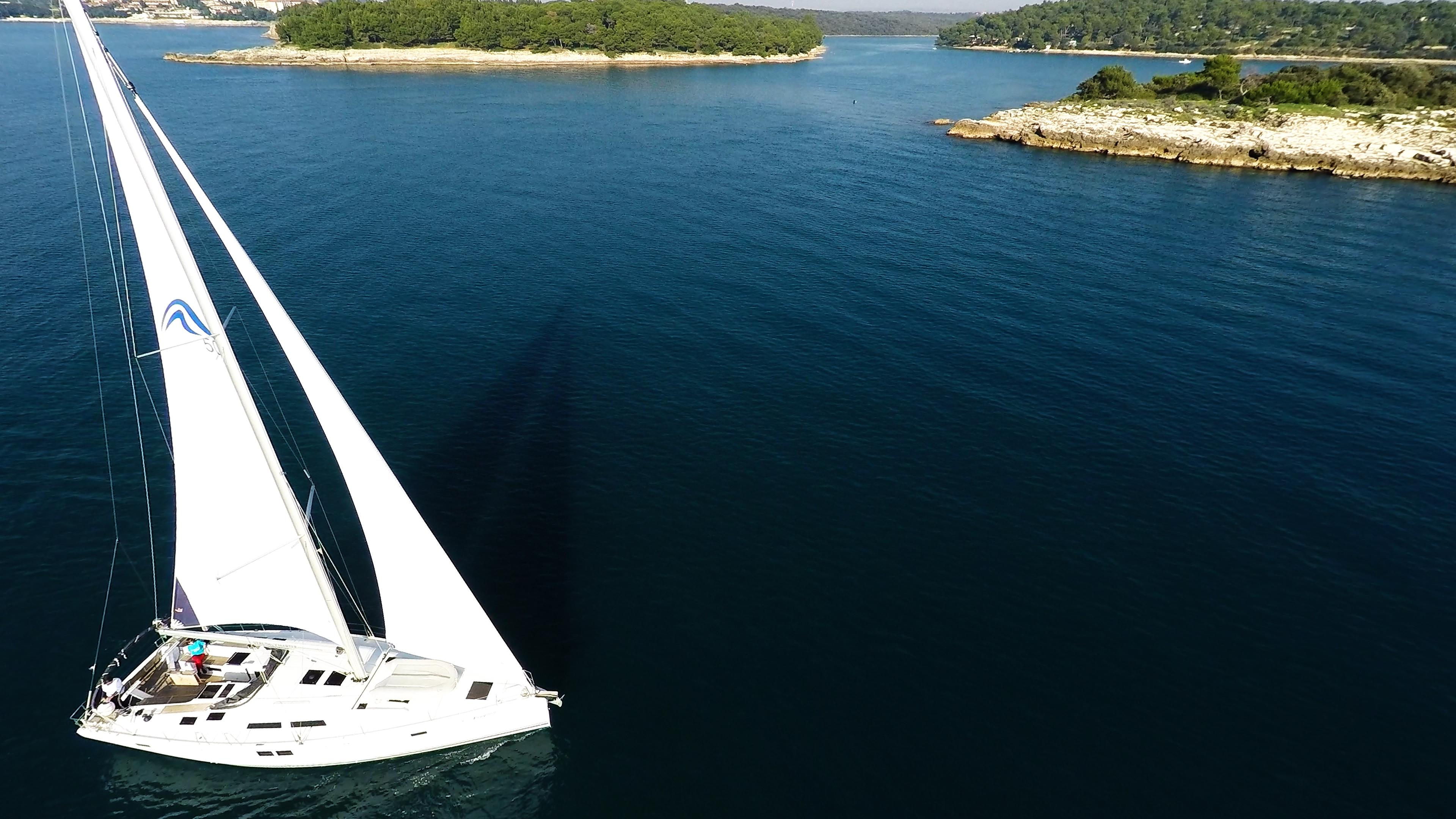 barcha a vela barca a vela isole del mare veleggiare