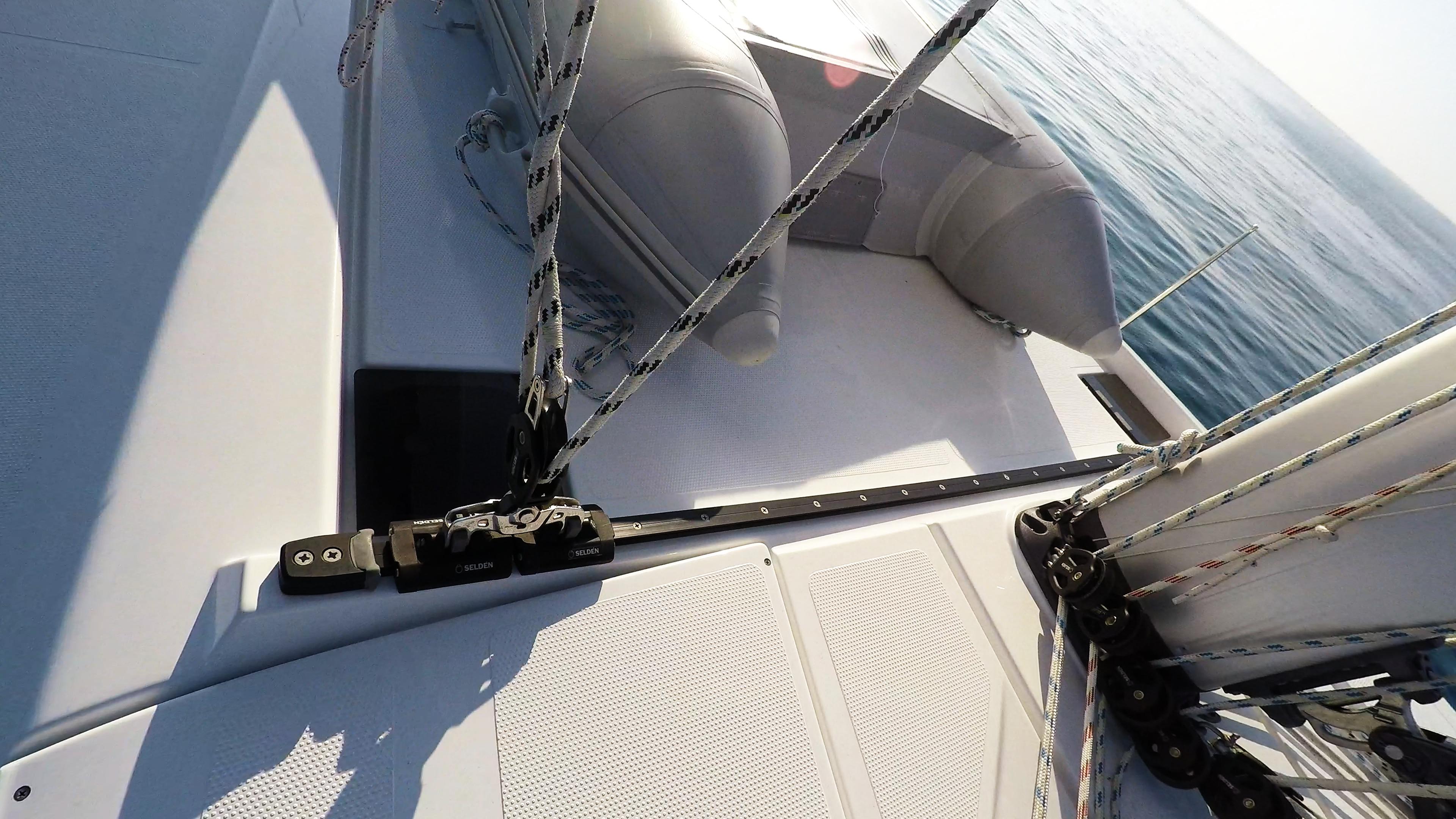 barcha a vela barca a vela fiocco autovirante yacht a vela Hanse 505