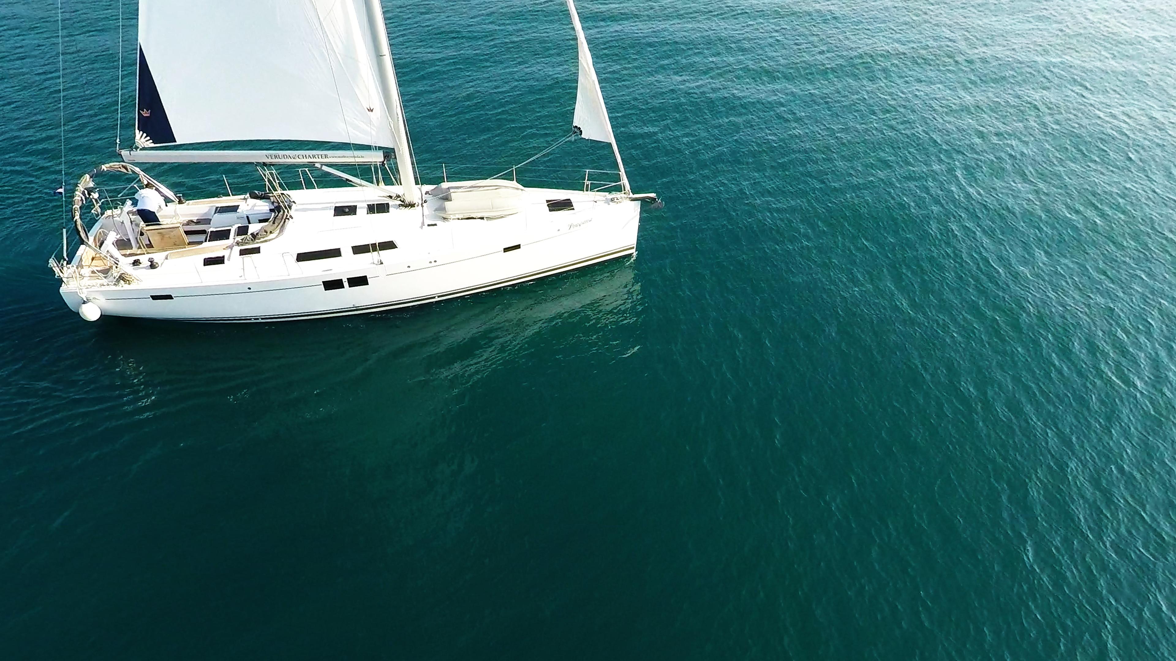 barcha a vela yacht a velaal mare Hanse 505