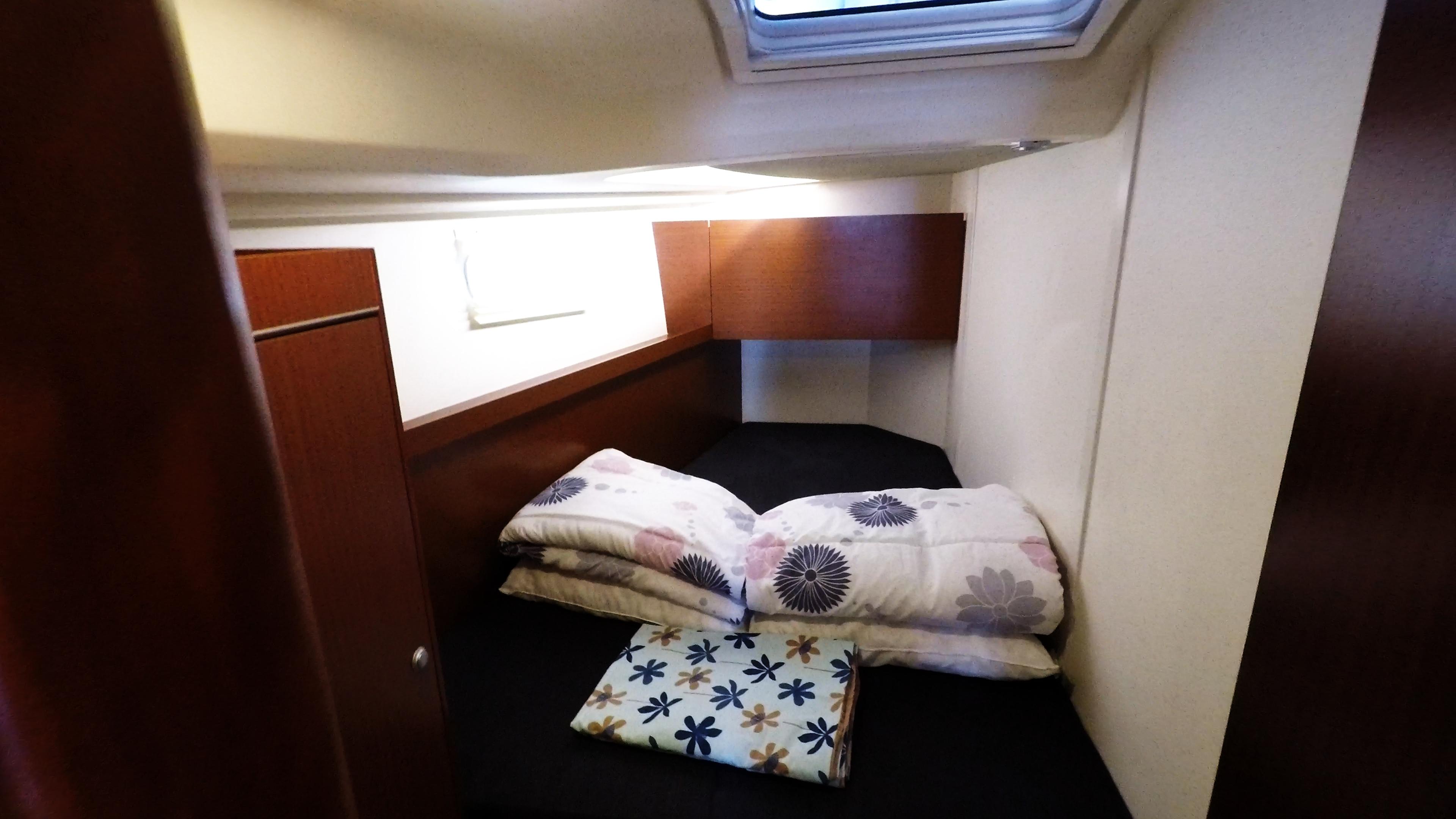 barcha a vela yacht a vela nollegio Hanse 505 cabina anteriore sinistra