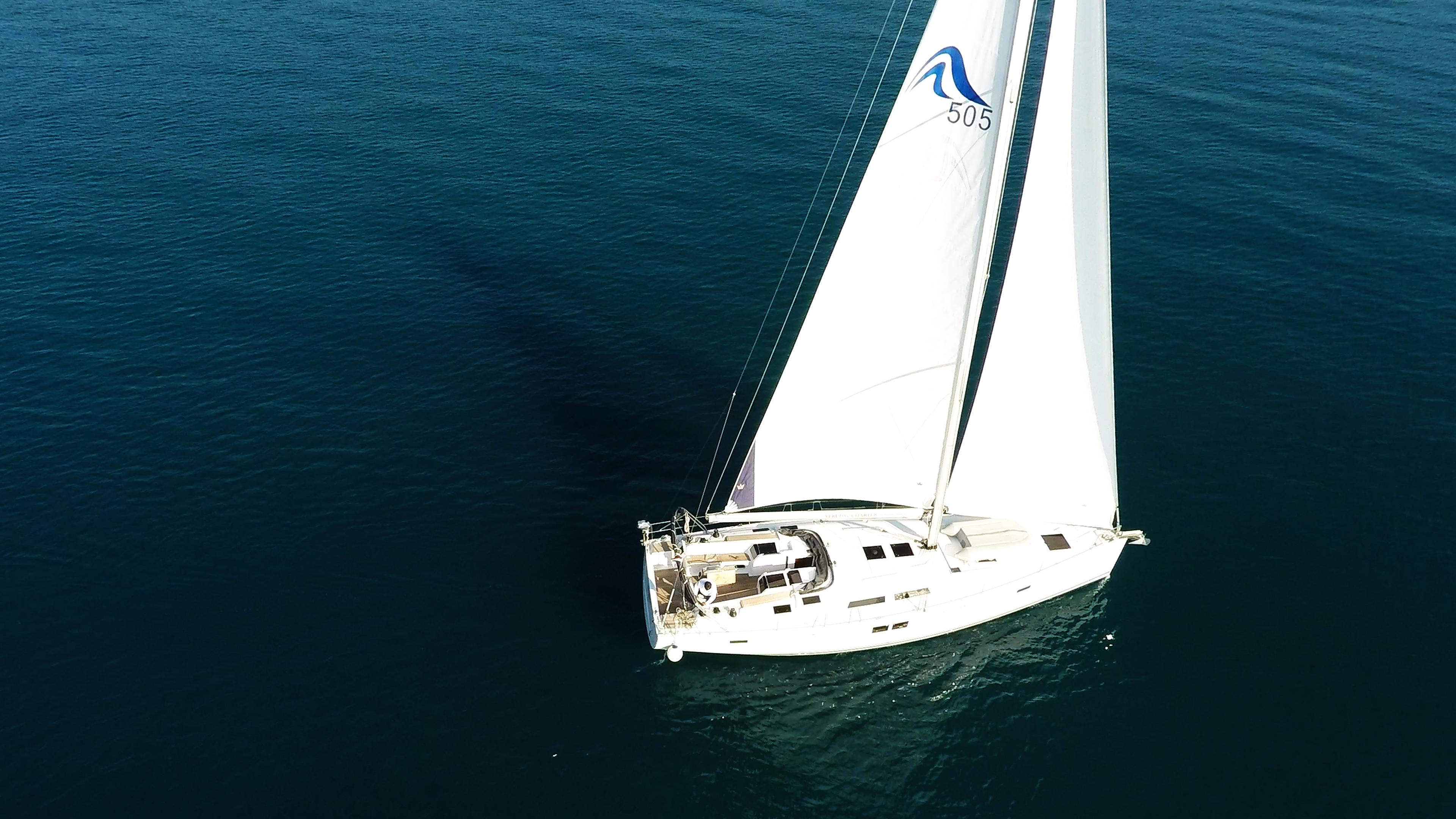barcha a vela yacht a vela Hanse 505 1