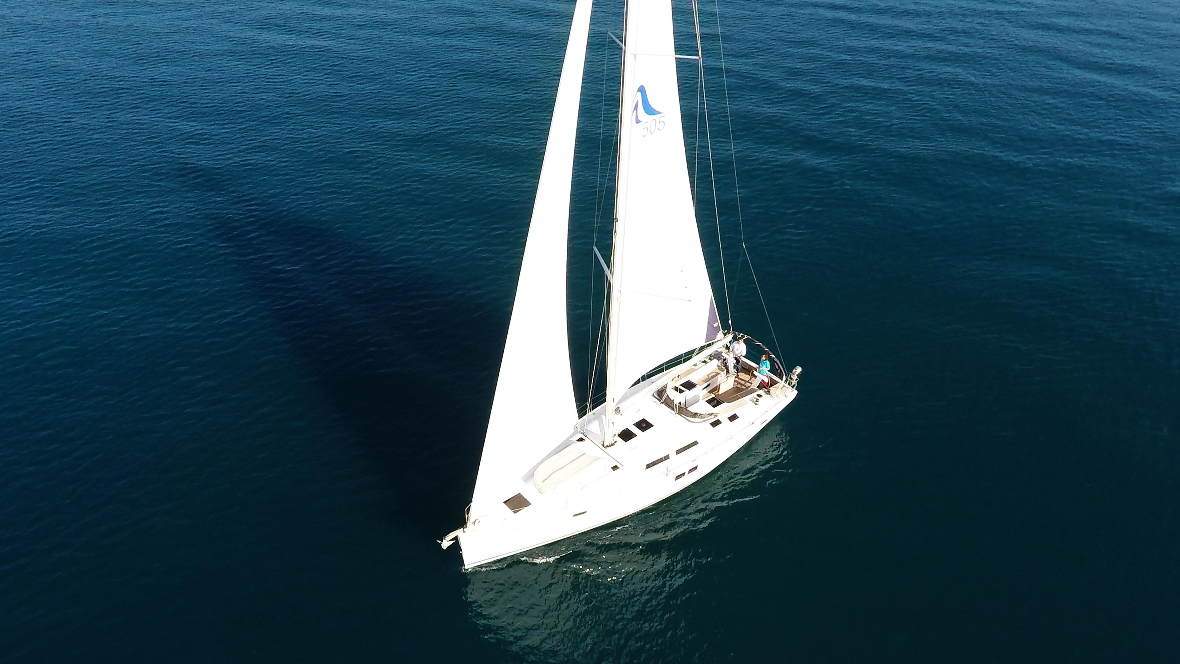 barcha a vela yacht a vela Hanse 505 3