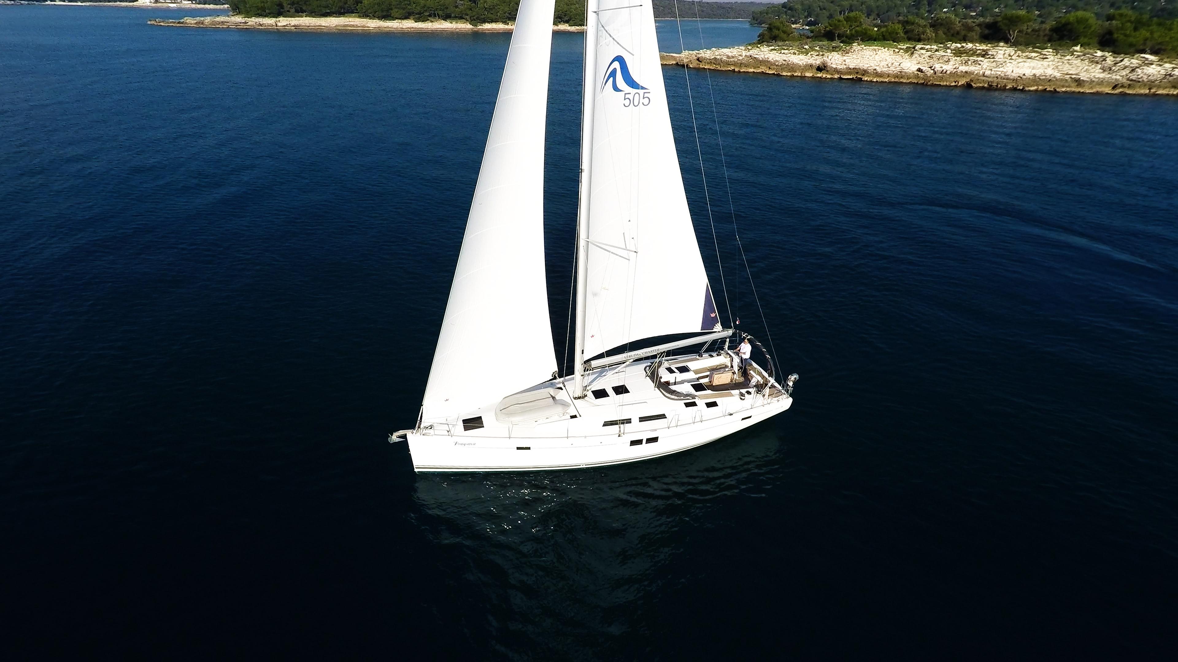 barcha a vela yacht a vela Hanse 505 4
