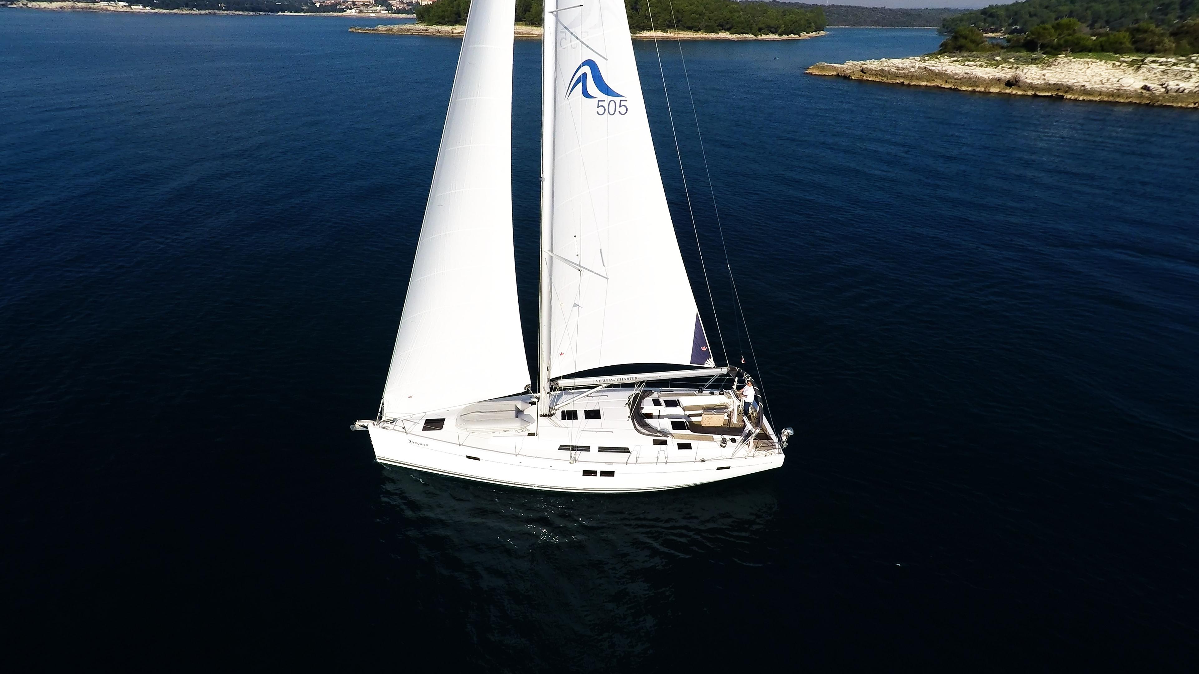 barcha a vela yacht a vela Hanse 505 5