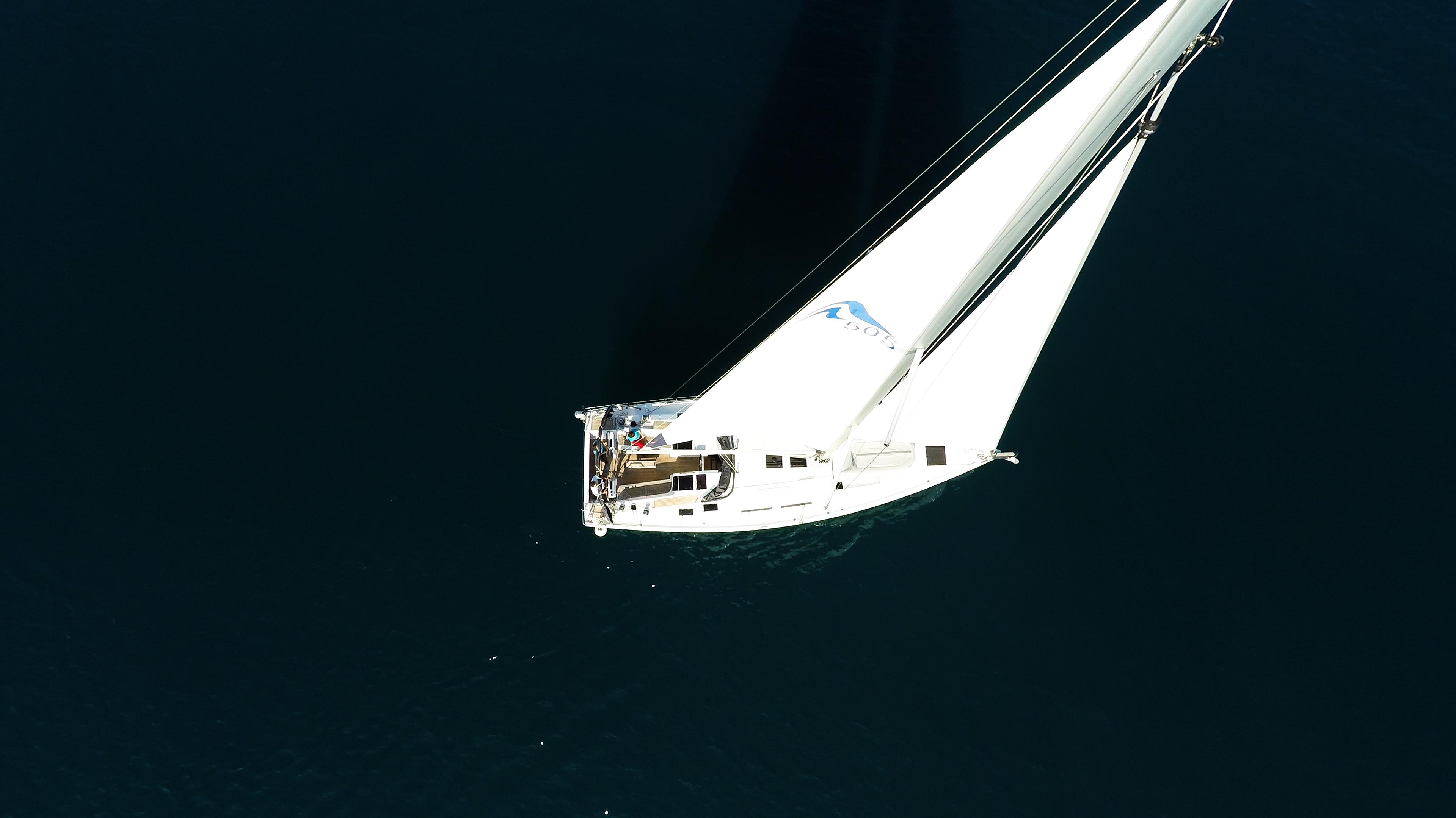 barcha a vela yacht a vela Hanse 505 aereo randa ponte pozzetto