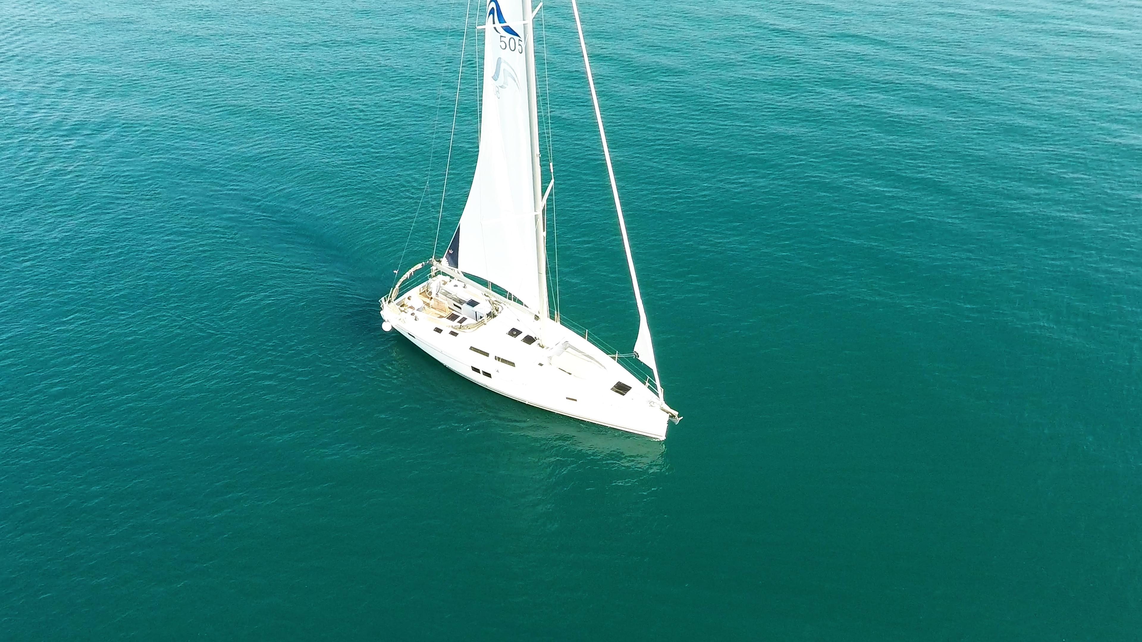 barcha a vela yacht a vela Hanse 505al mare