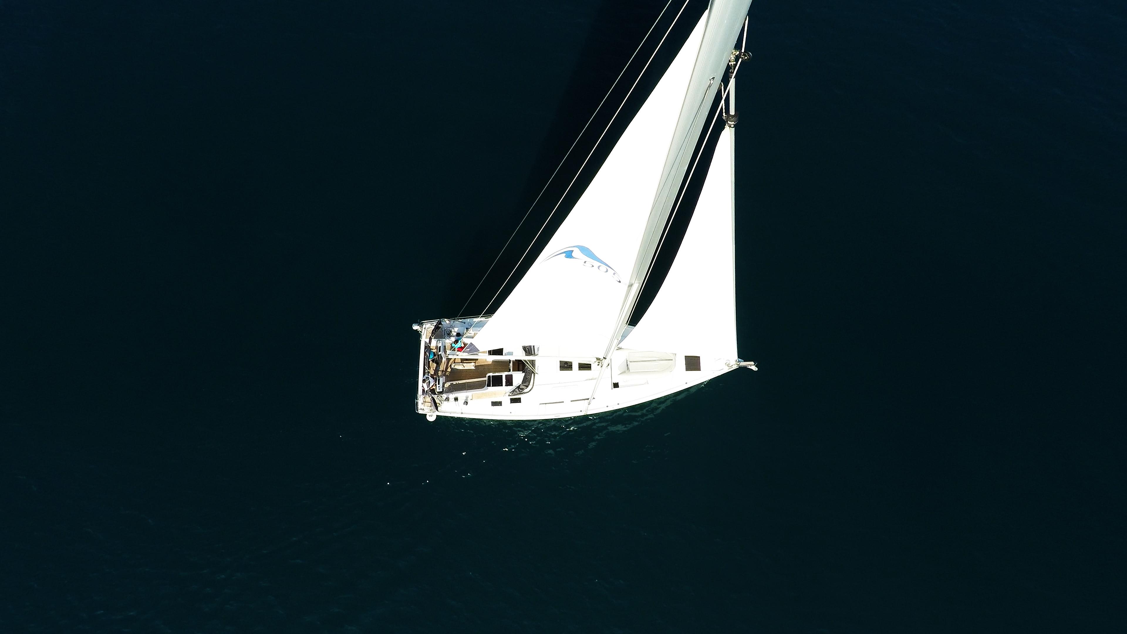 barcha a vela yacht a vela Hanse 505 randa albero sartiame