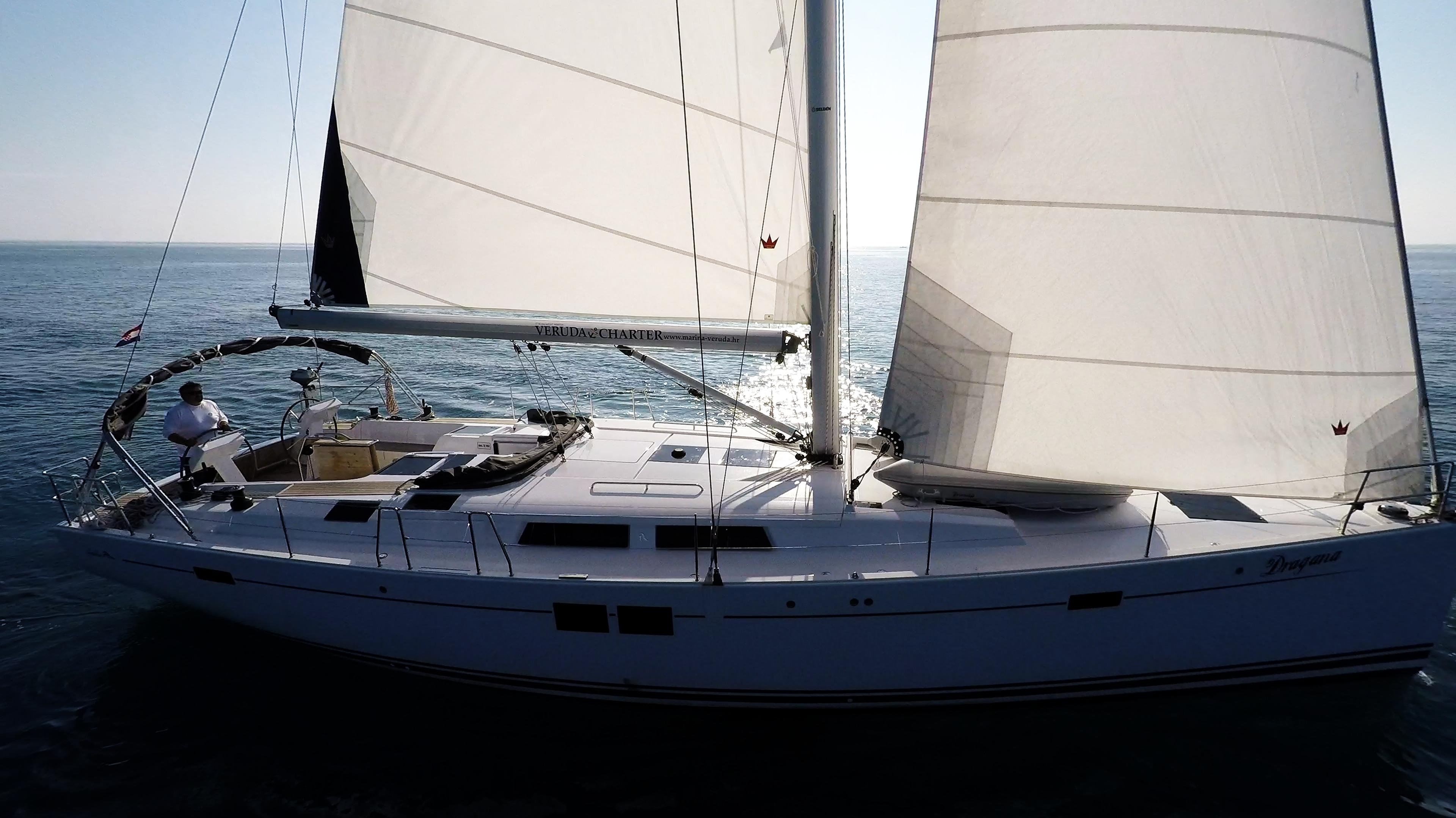 barcha a vela yacht a vela Hanse 505 vele scafo