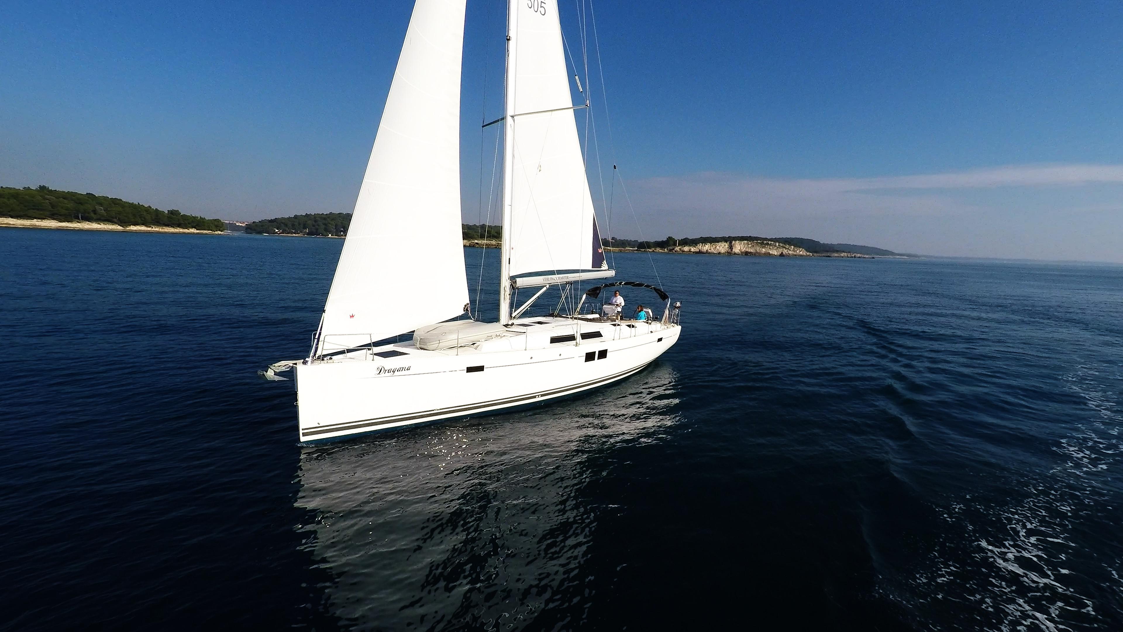 barcha a vela yacht a vela Hanse 505 vele barca a vela