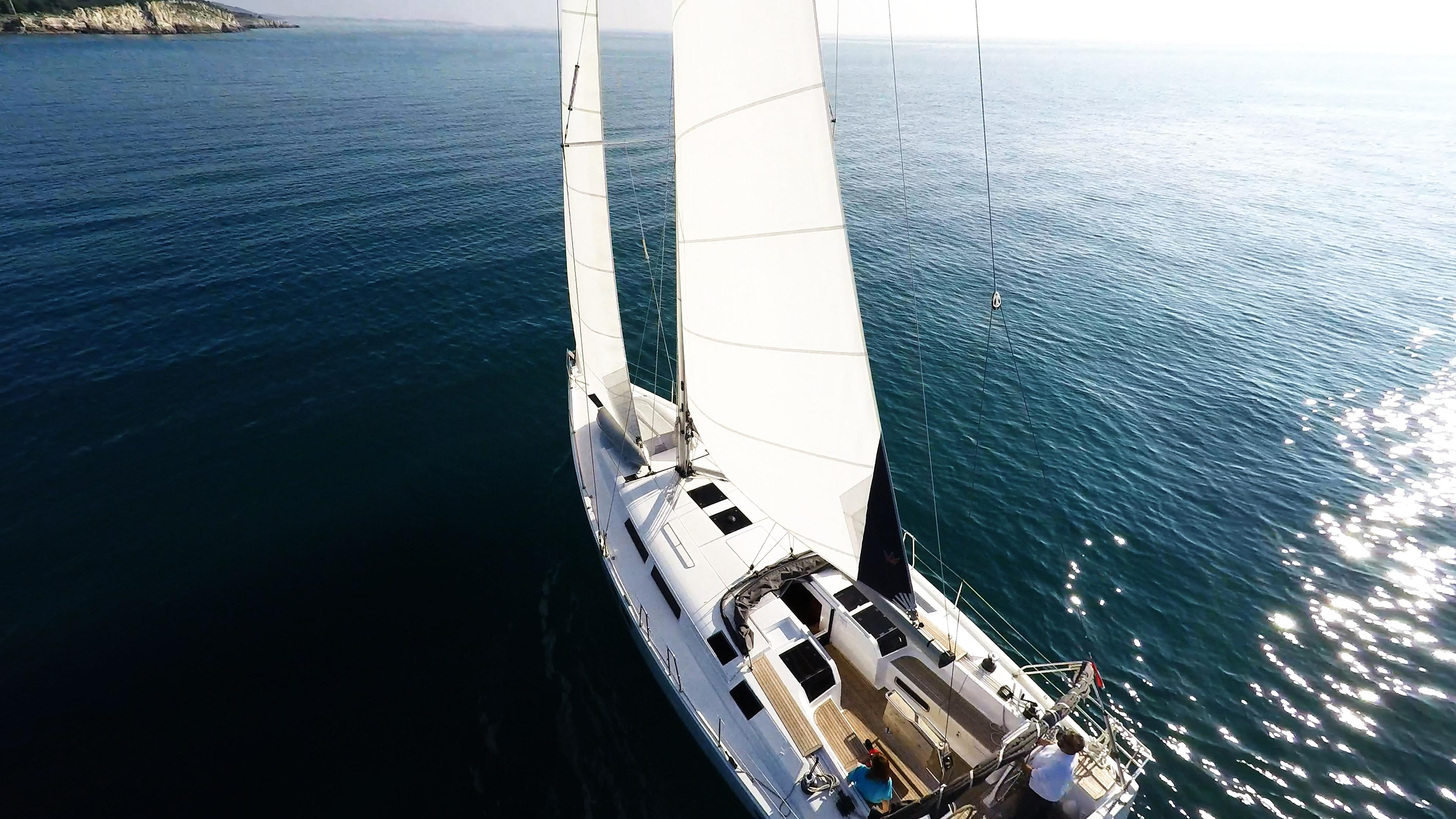 barcha a vela yacht a vela Hanse 505 isola del mare barca a vela