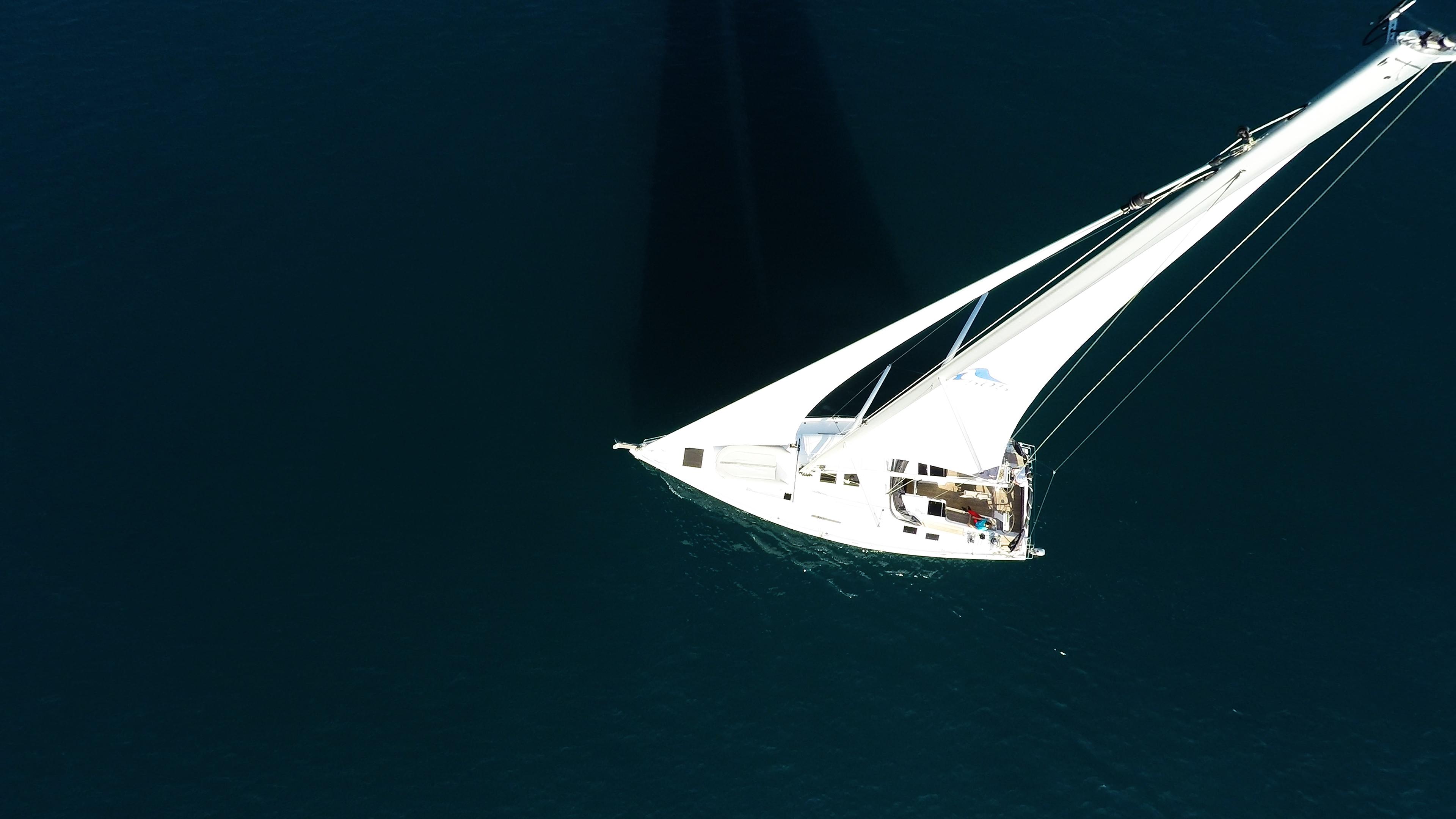 barcha a vela yacht a vela Hanse 505 cima dell'albero