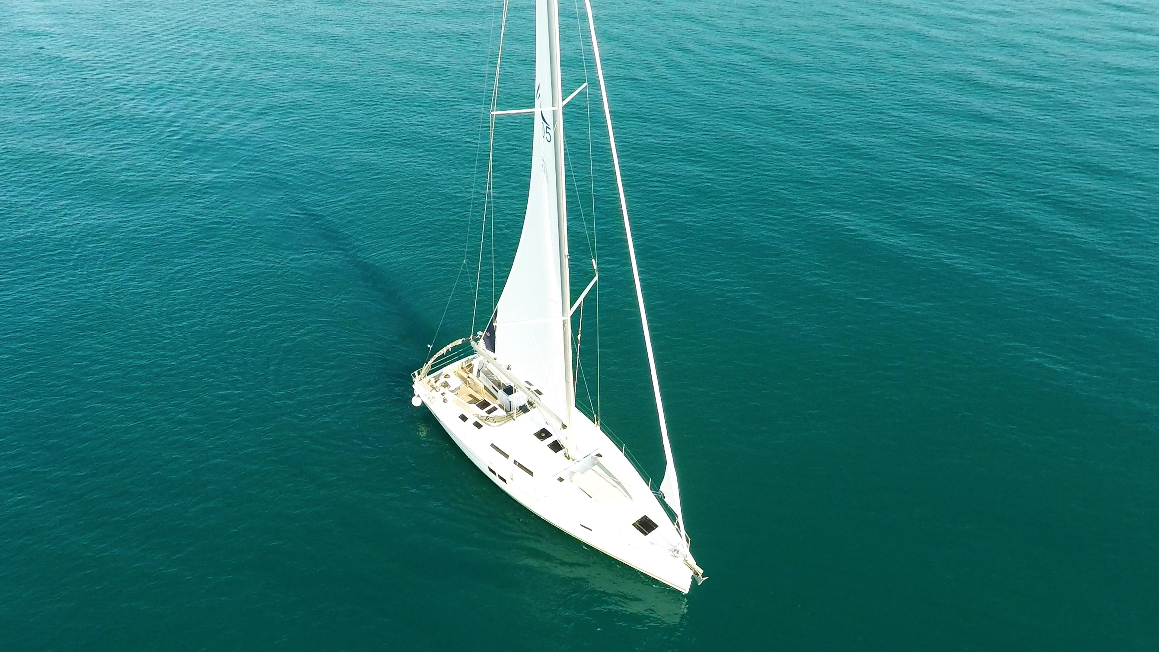 barcha a vela yacht a vela Hanse 505