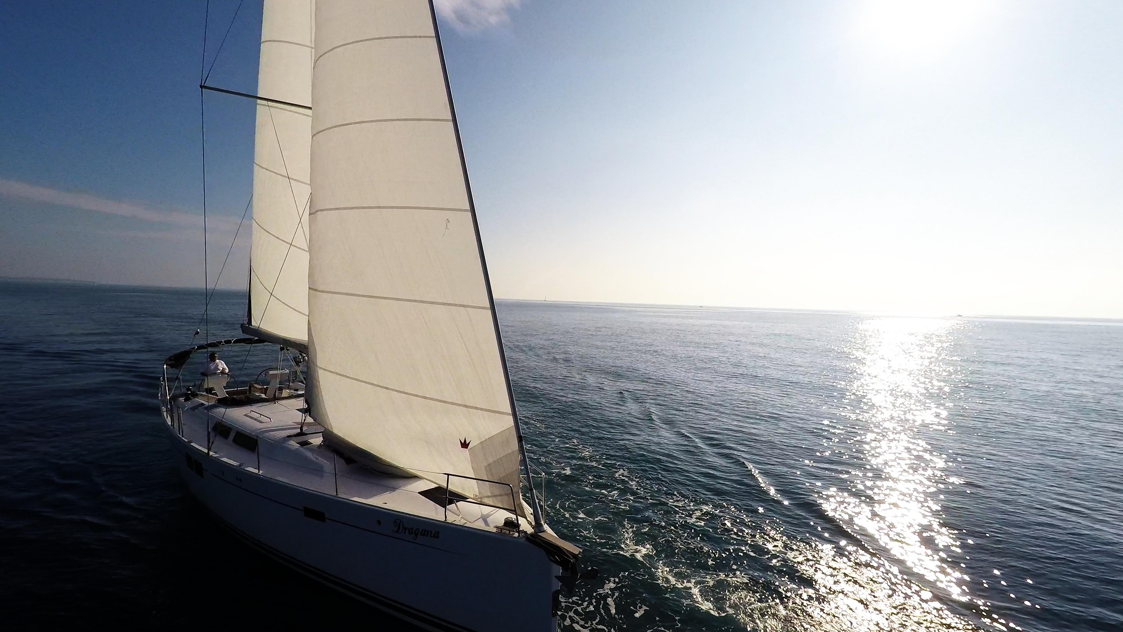 barcha a vela vele yacht a vela barca Hanse 505 sole mare