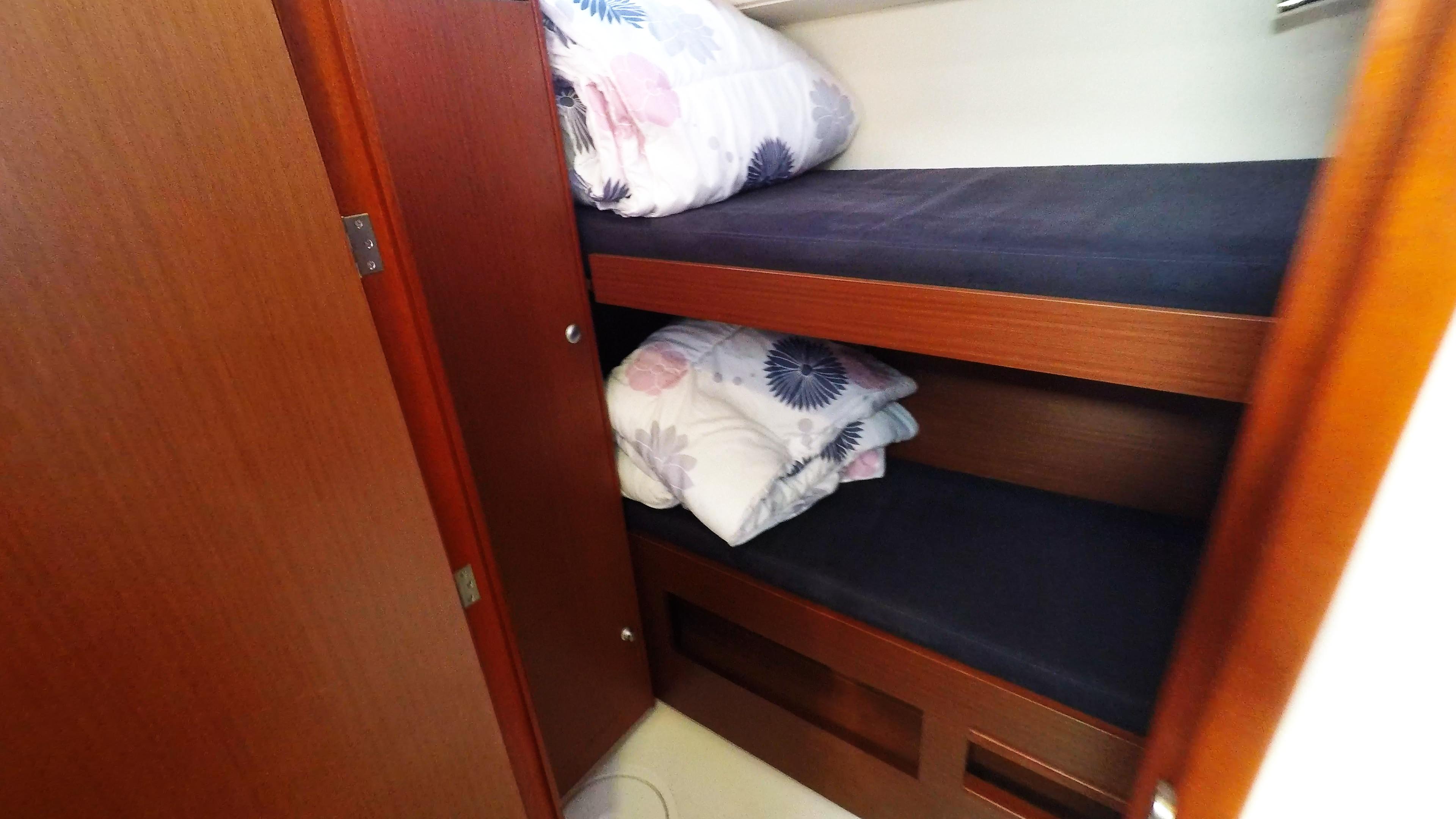 barcha a vela letto singolo cabina di poppa yacht a vela Hanse 505