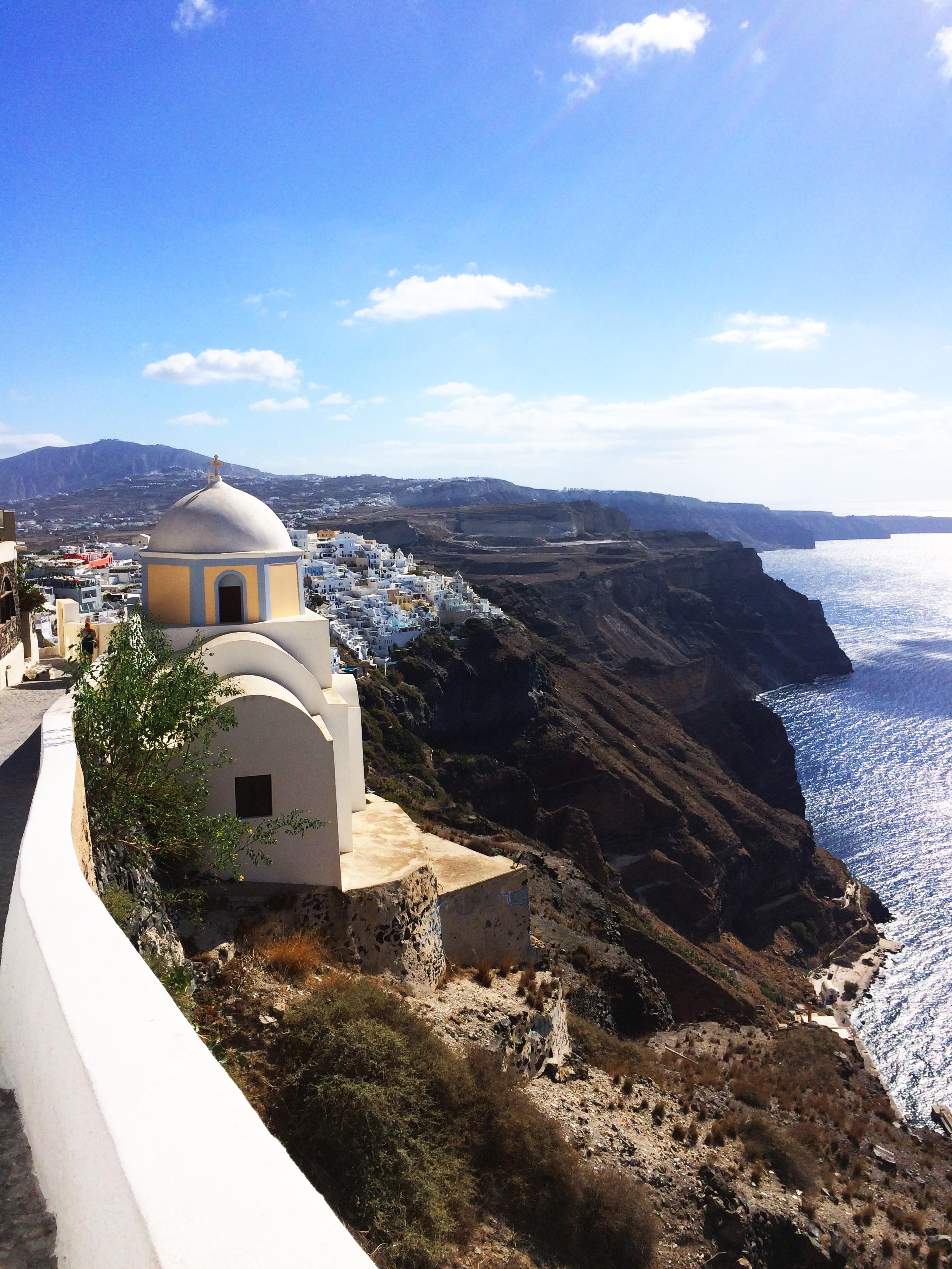 chiesa Santorini Grecia 1