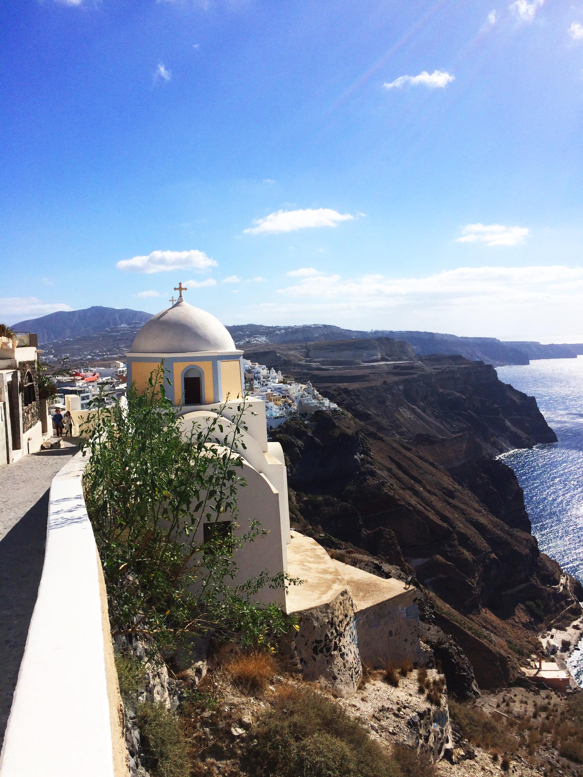 chiesa Santorini Grecia