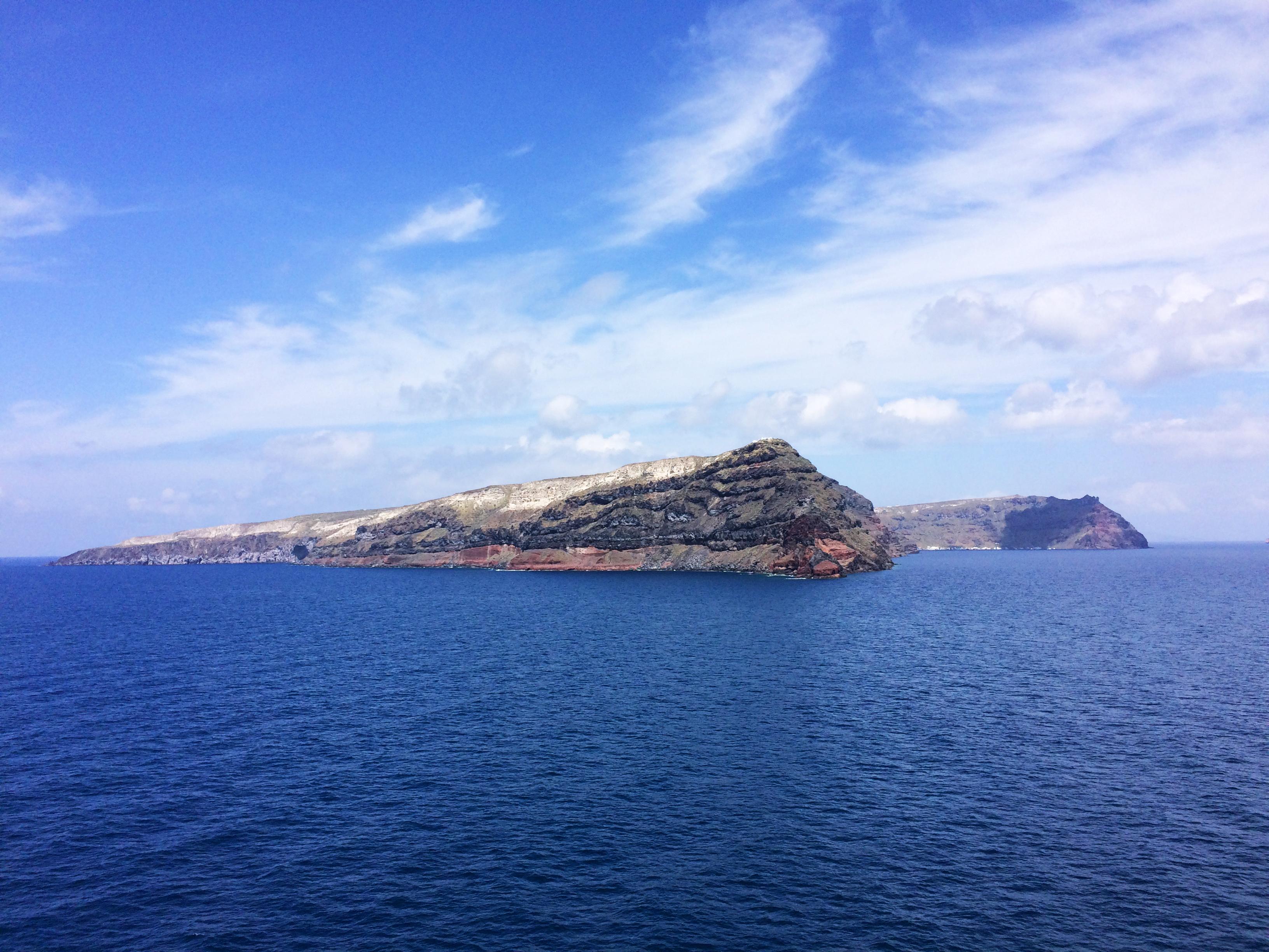 Santorini isola Grecia mare