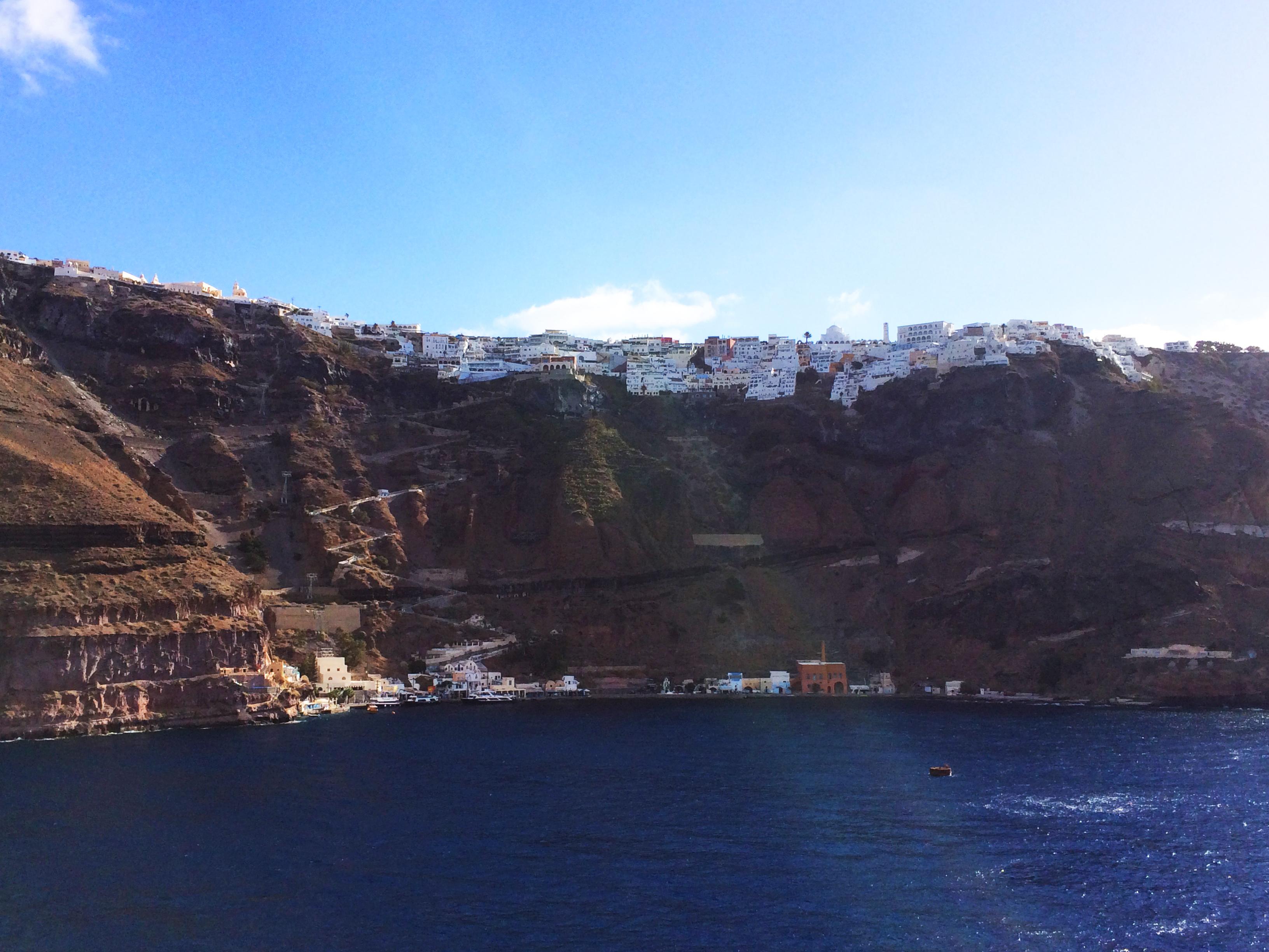 Santorini mare Grecia
