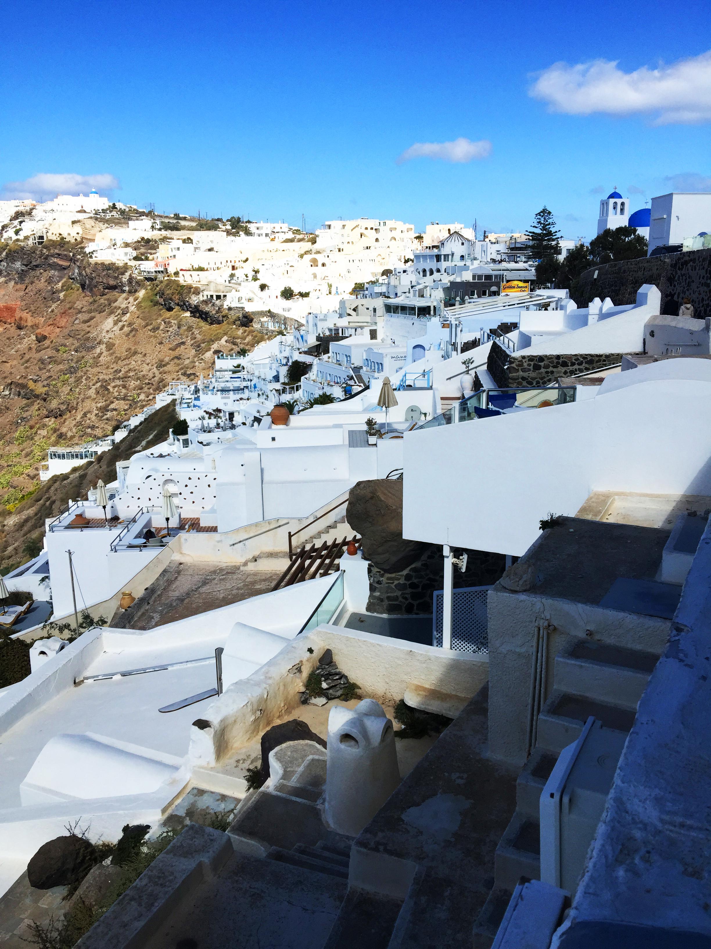 Santorini terrazze Grecia
