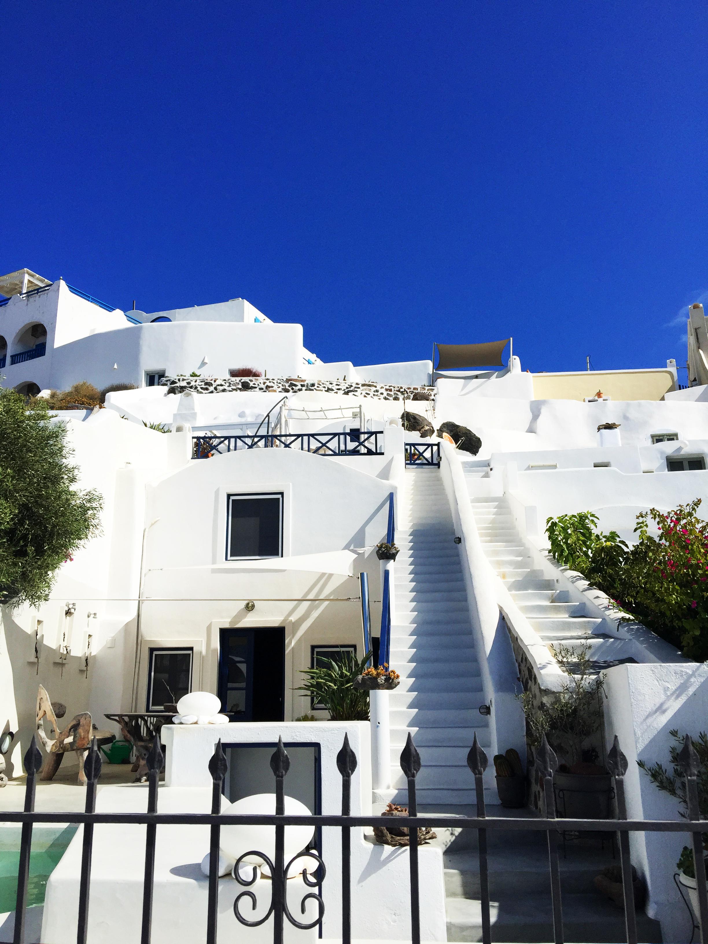 Santorini villa Grecia