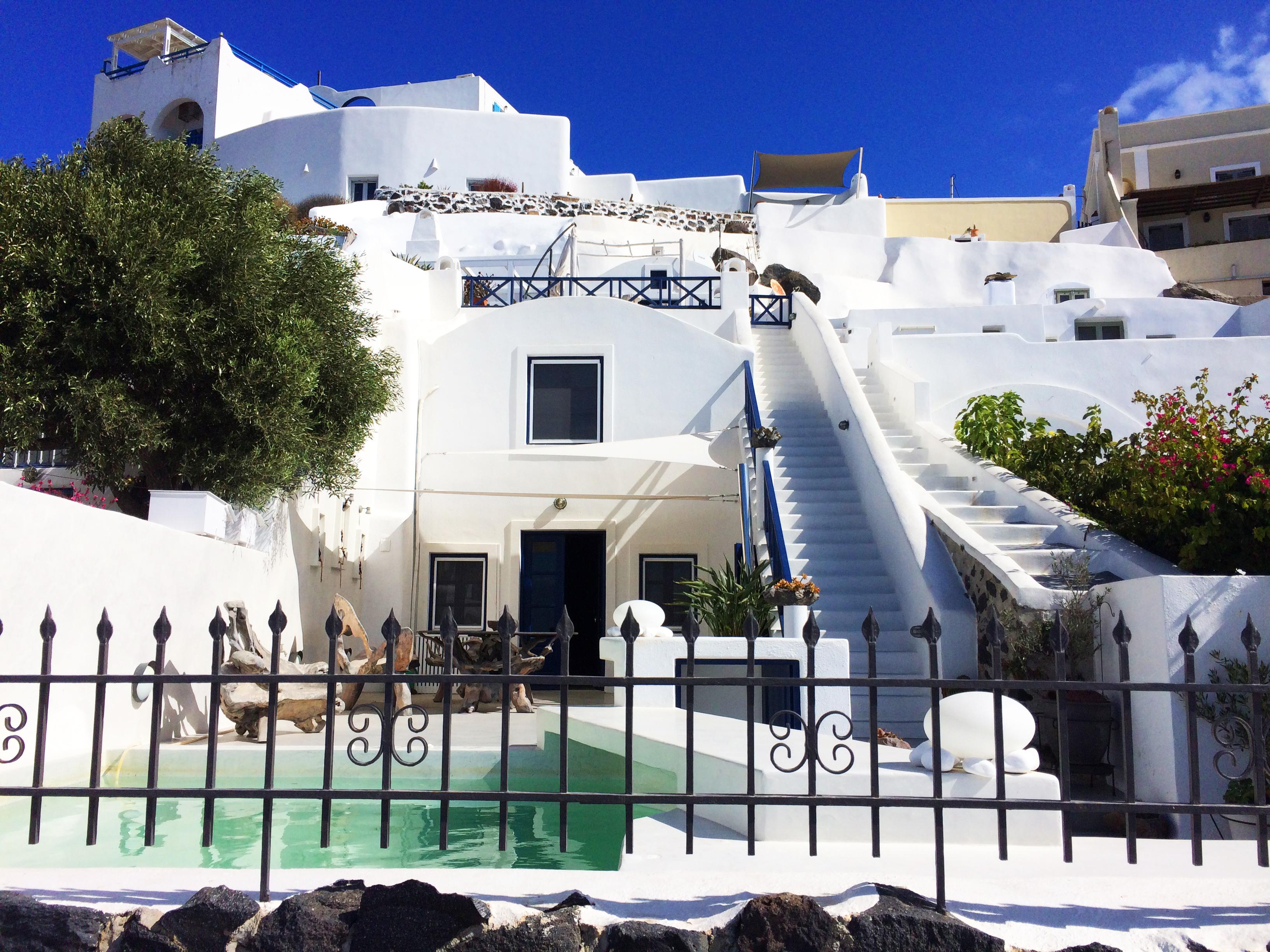 villa Santorini Grecia