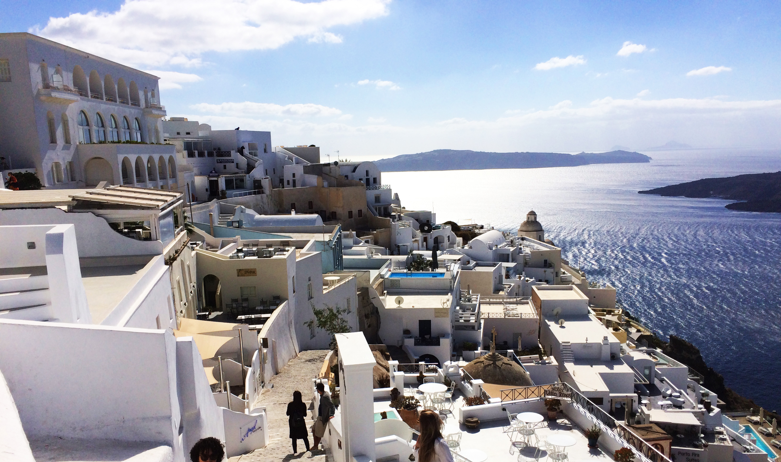 villaggio Santorini Grecia isola del mare